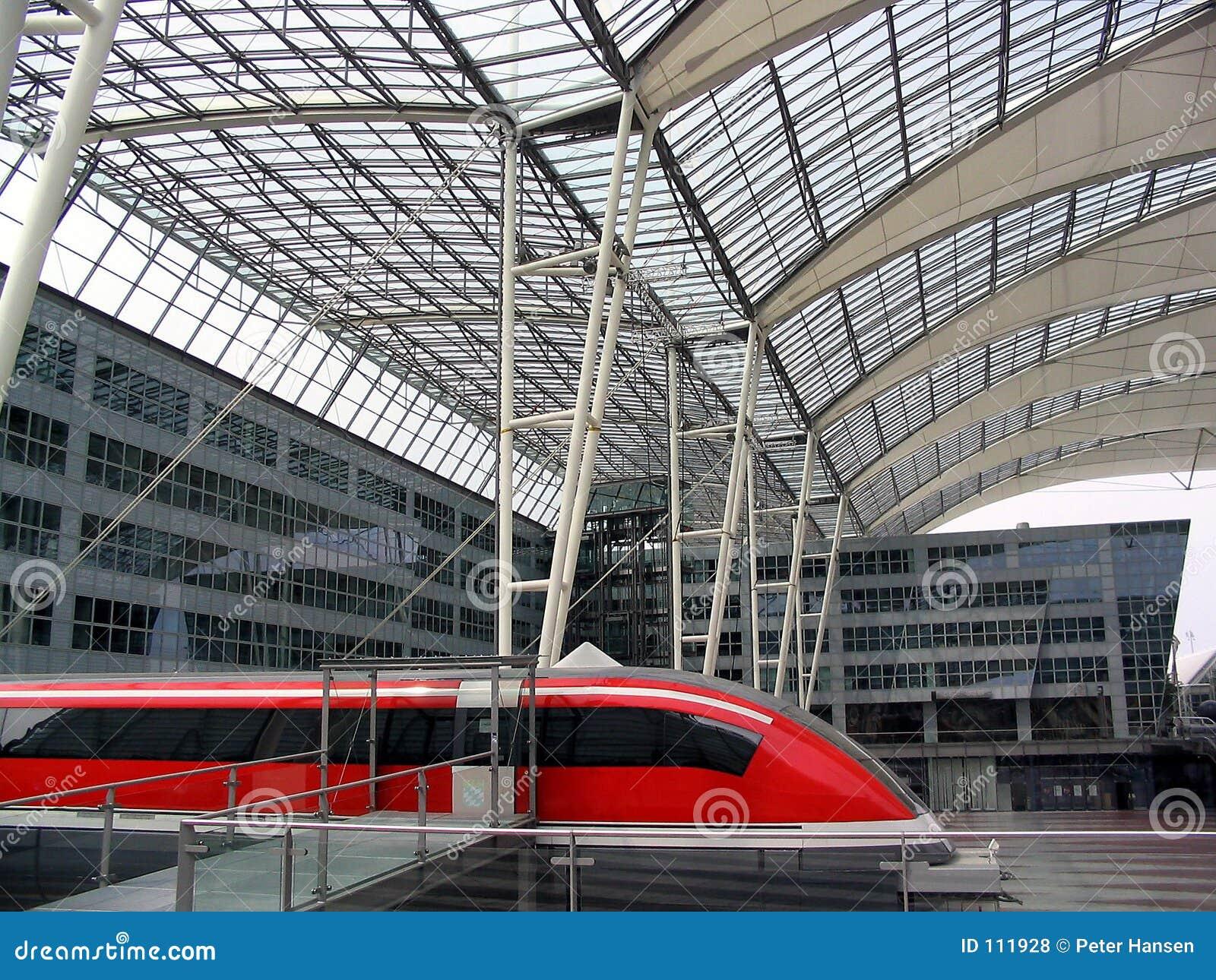Lewitacja pociąg magnetyczny