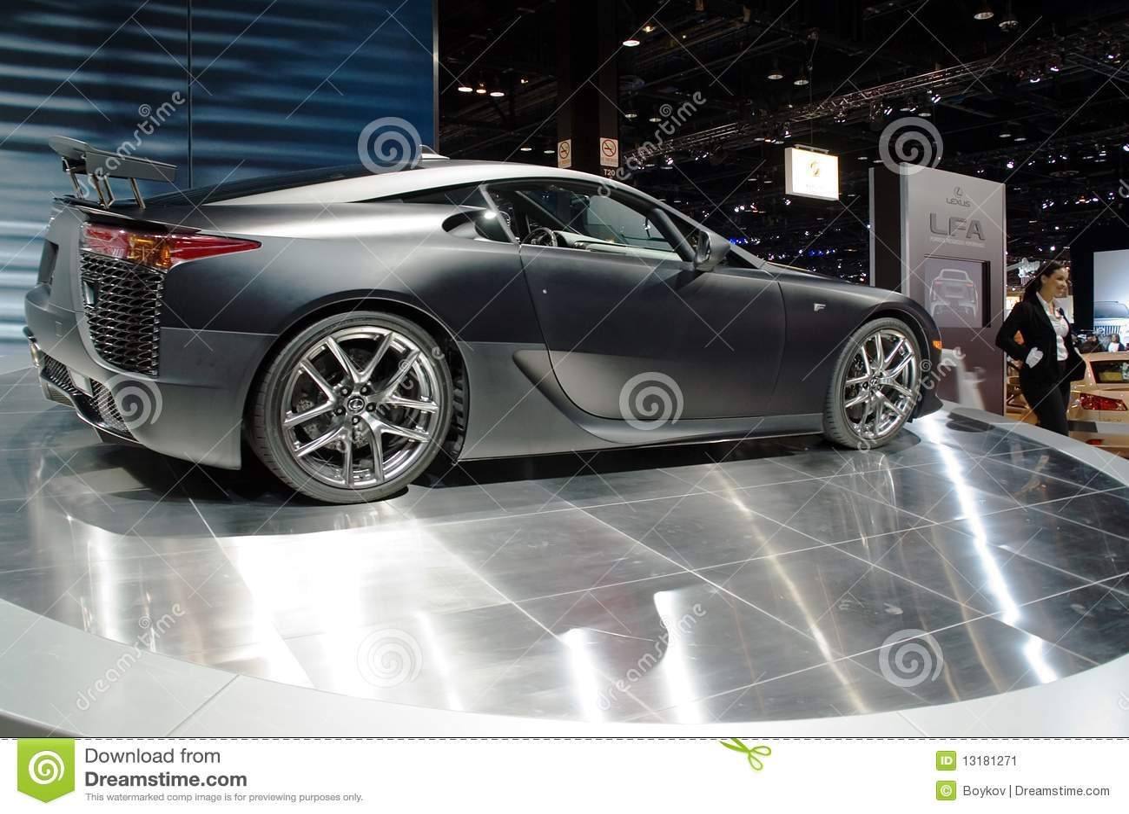 Lexus Gebiet-Baumuster 2010