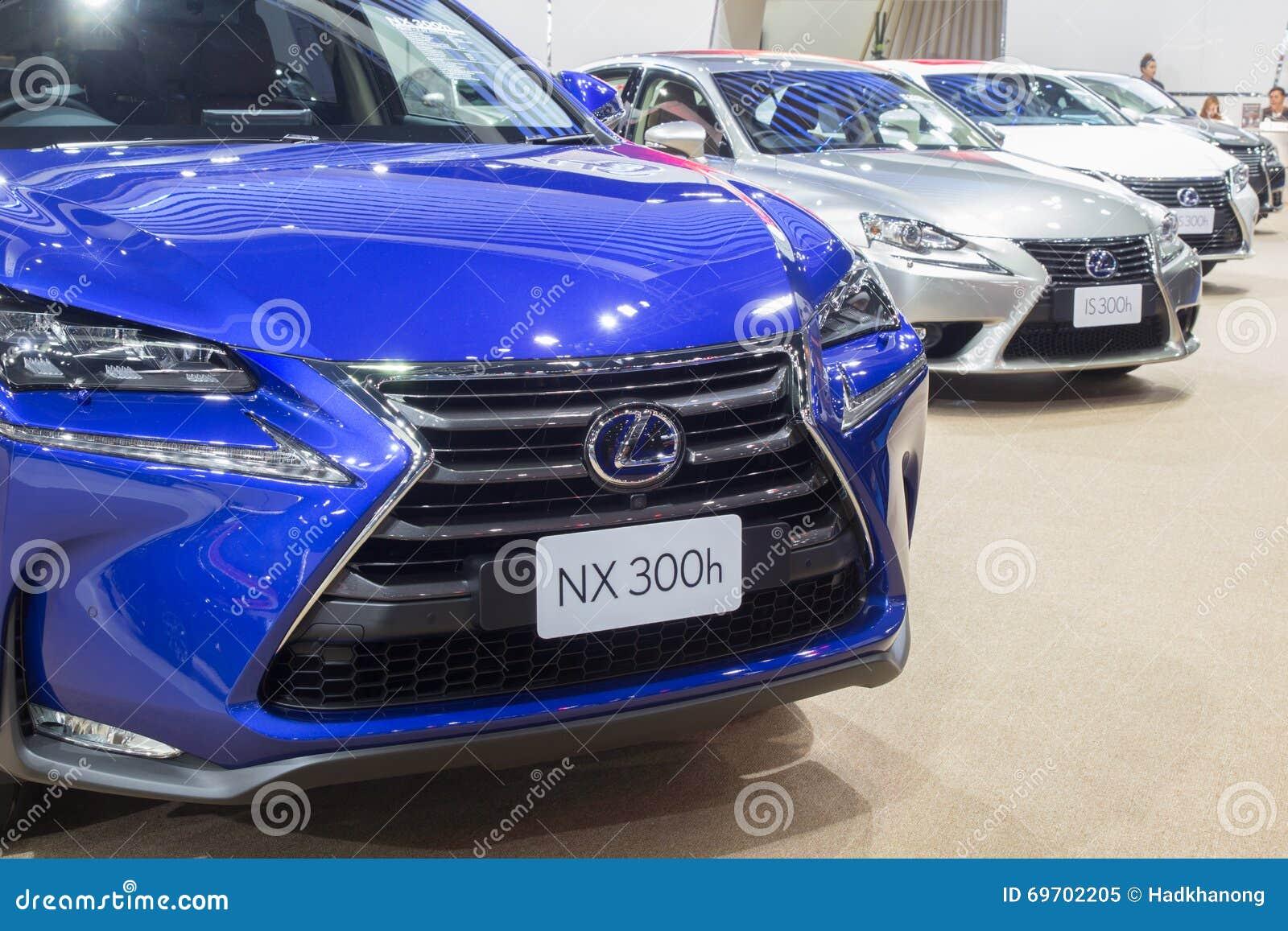 Lexus Nx 300h Een Hybride Auto Toonde In Thailand 37ste Bangkok I