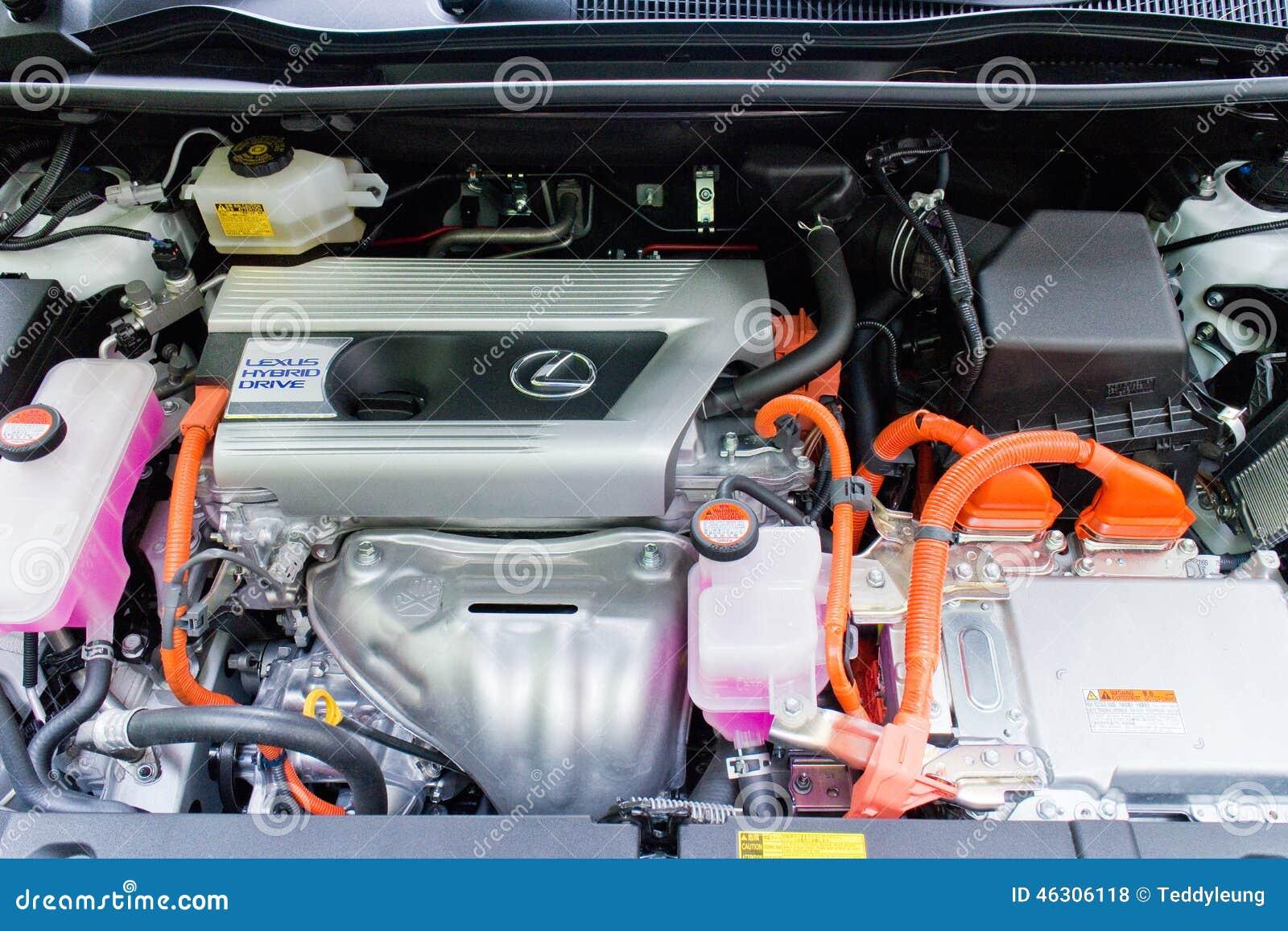 Lexus NX 300h Hybrid Engine Editorial Stock Photo - Image ...