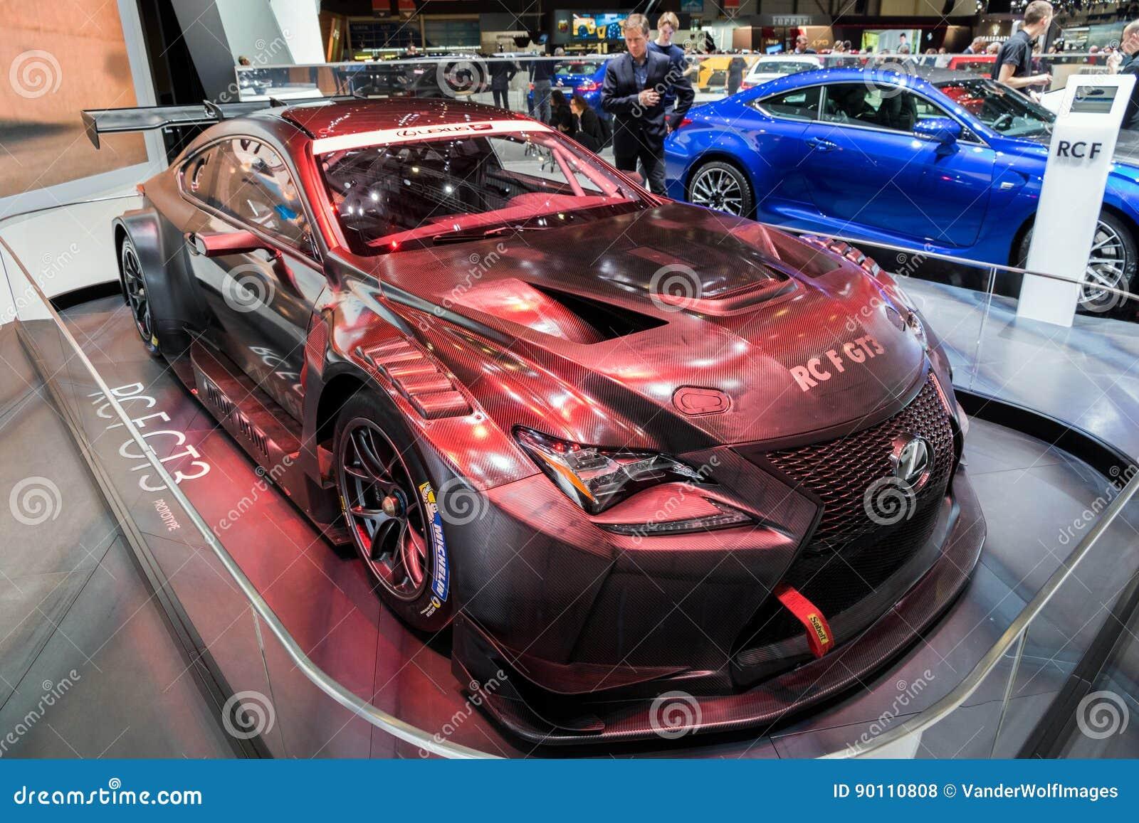 Exceptional 2018 Lexus RC F GT3 Sportscar