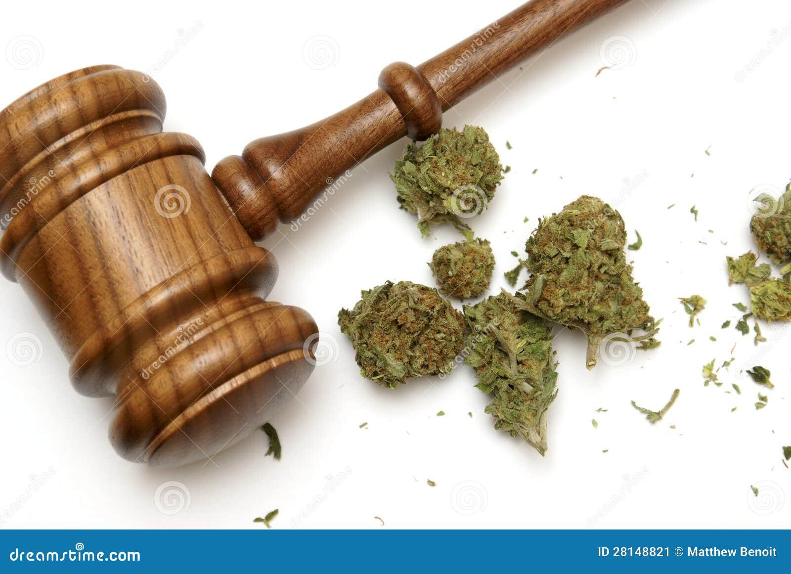 Ley y marijuana