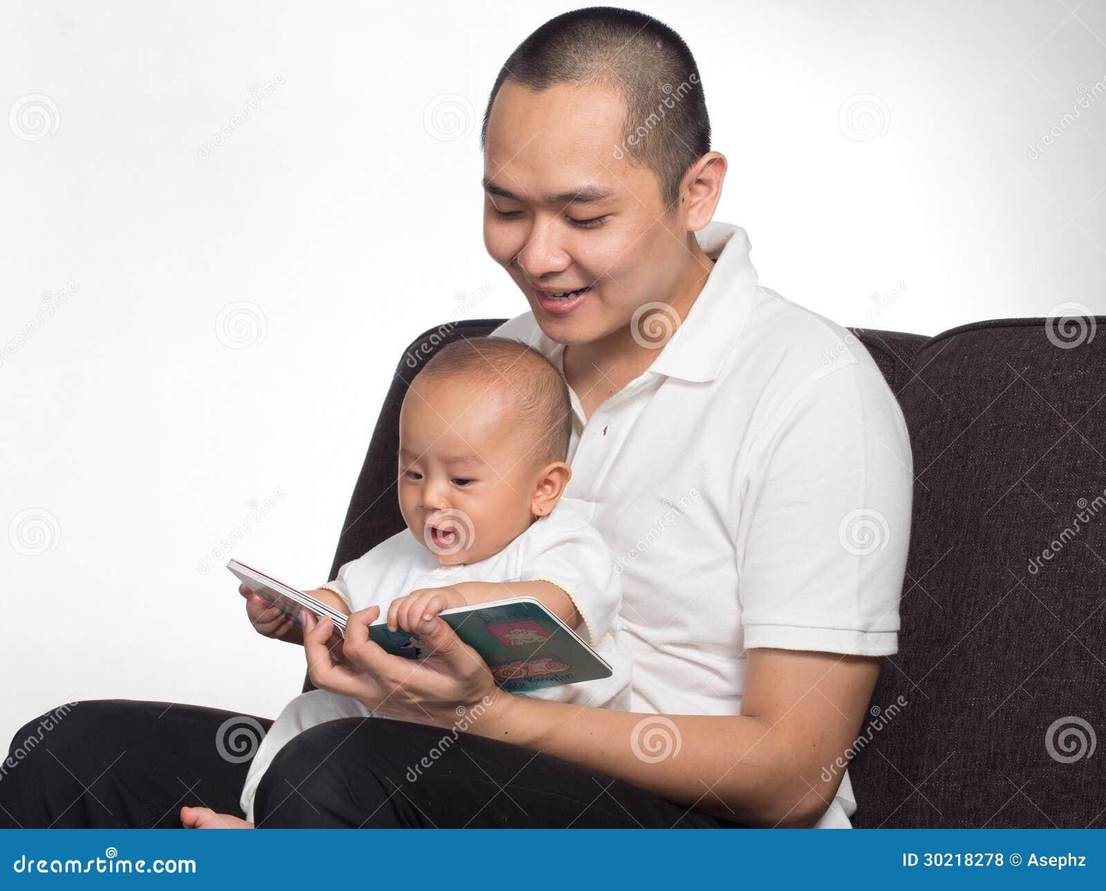 Lezingsboek met papa