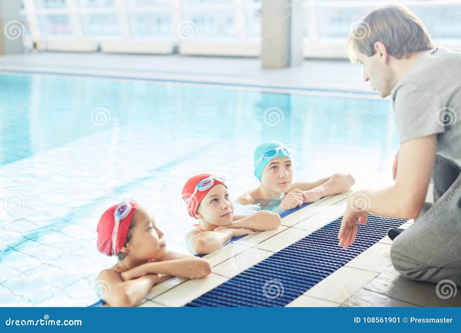 Lezione di nuoto