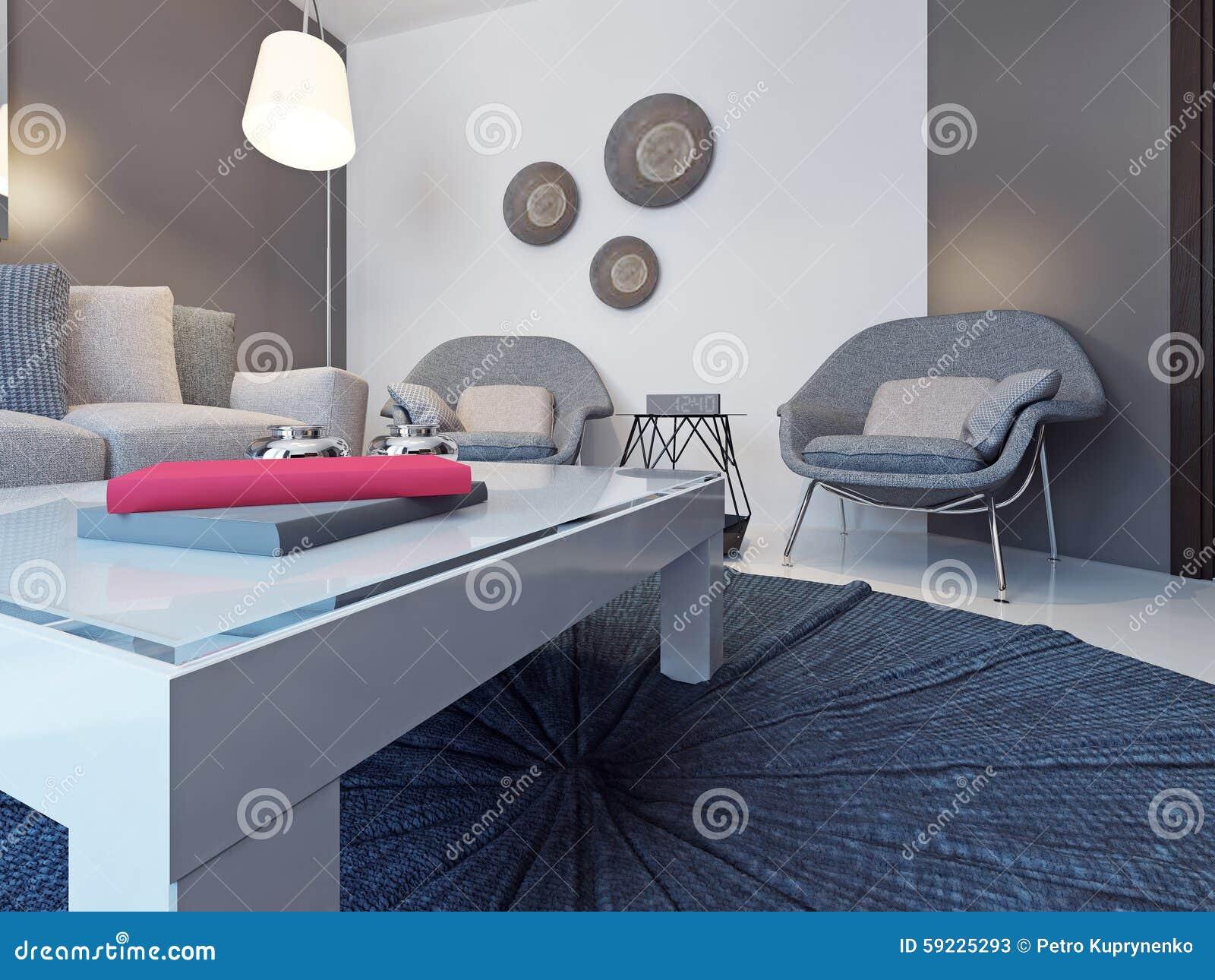 Låg tabell på en rund matta arkivfoto   bild: 59225293