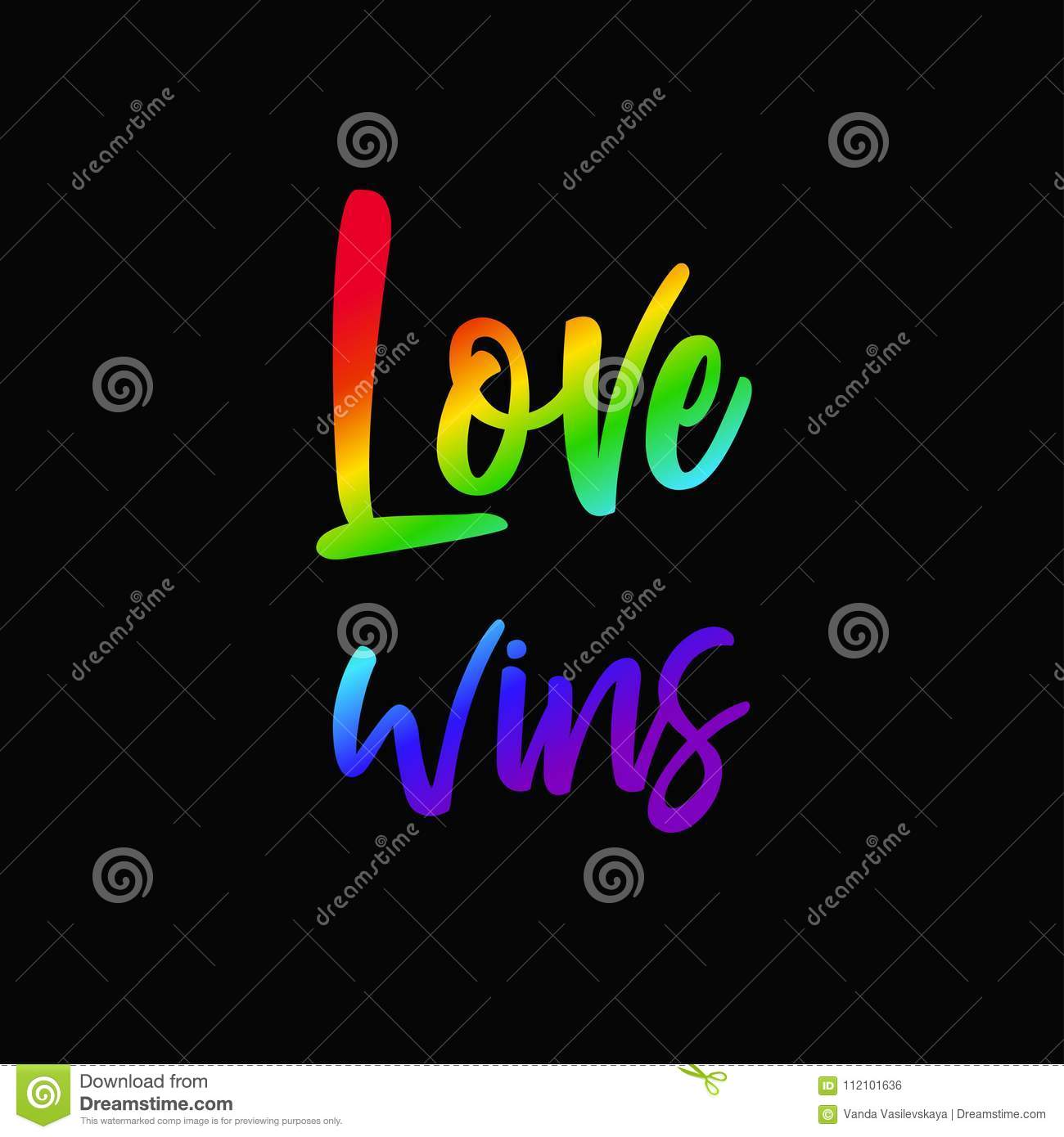 LGBT concept with rainbow 3