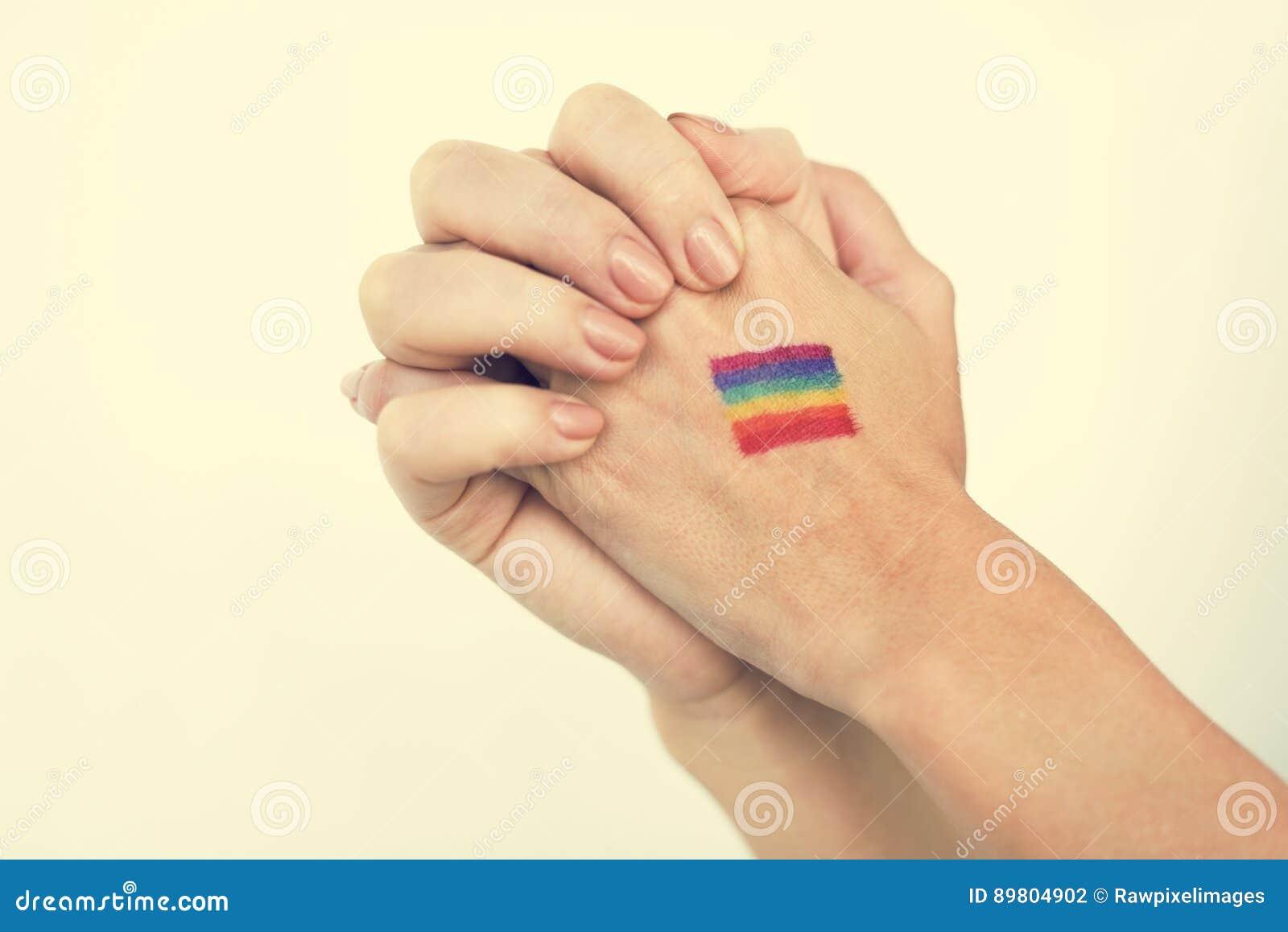 LGBT Lesbijskiego Homoseksualnego Biseksualnego Transsexual Zlany pojęcie