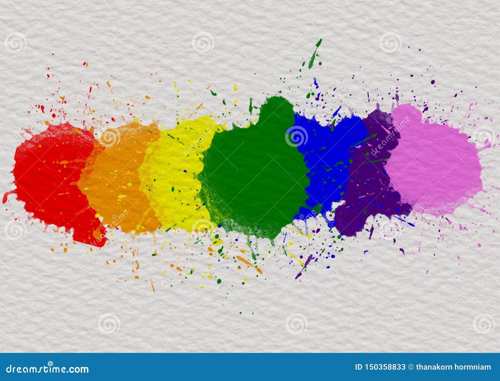 LGBT-Stolzmonats-Hintergrundkonzept