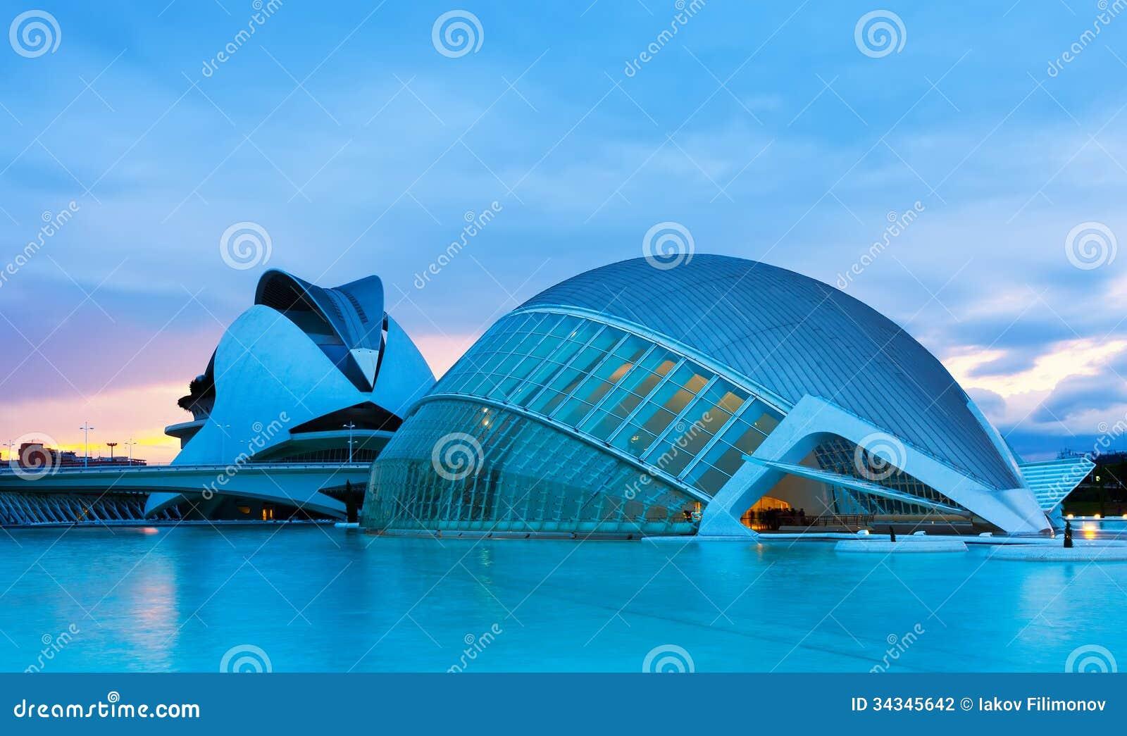 City valencia el palau de les arts reina sofia editorial - Palau de les heures ...