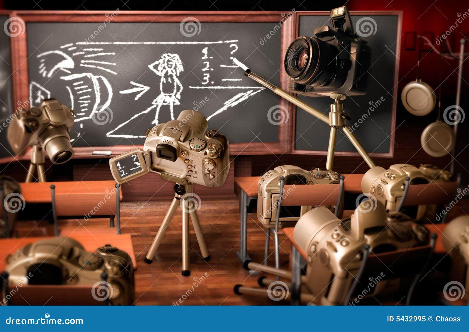 Lição da fotografia