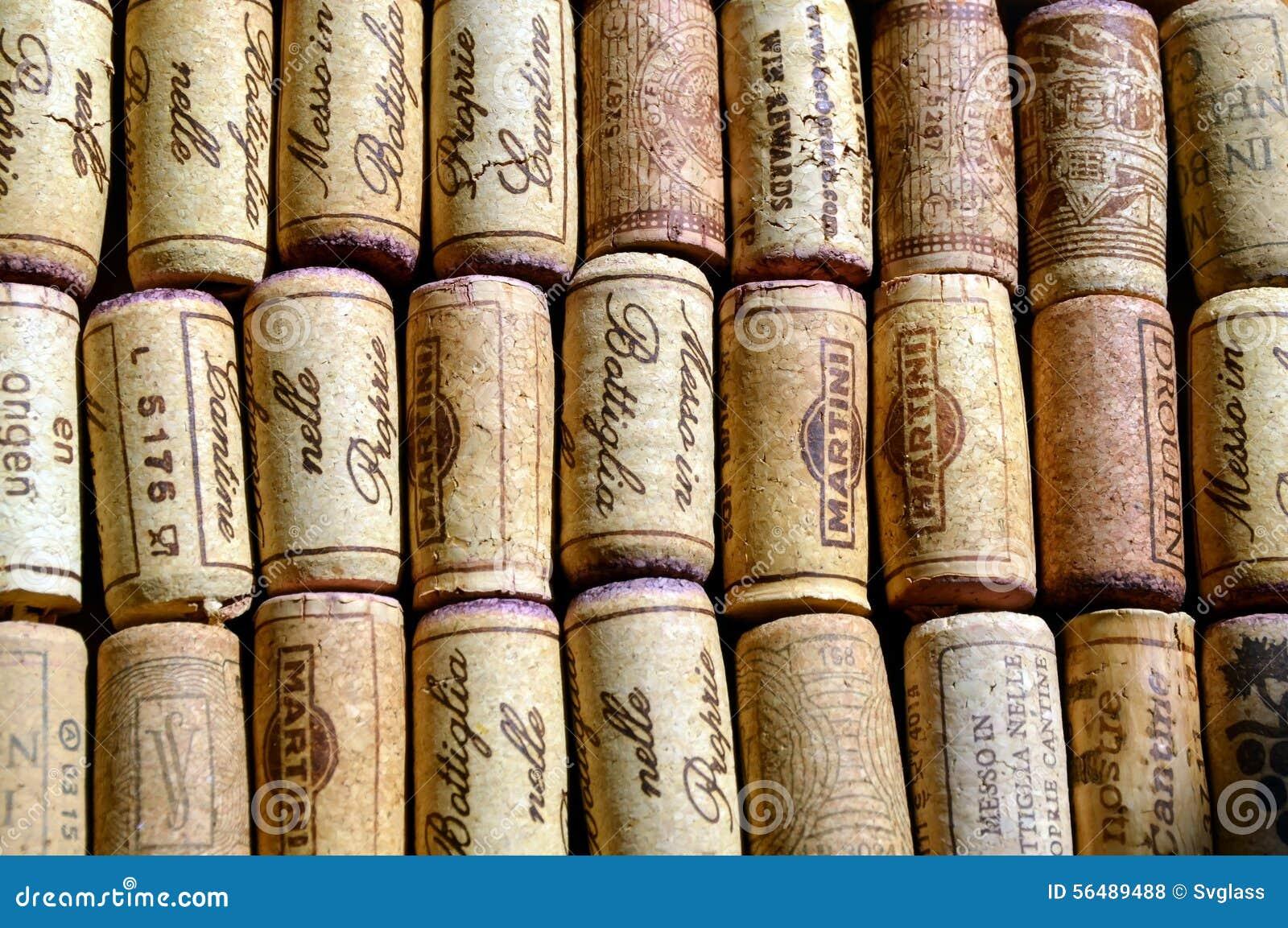 Lièges de vin