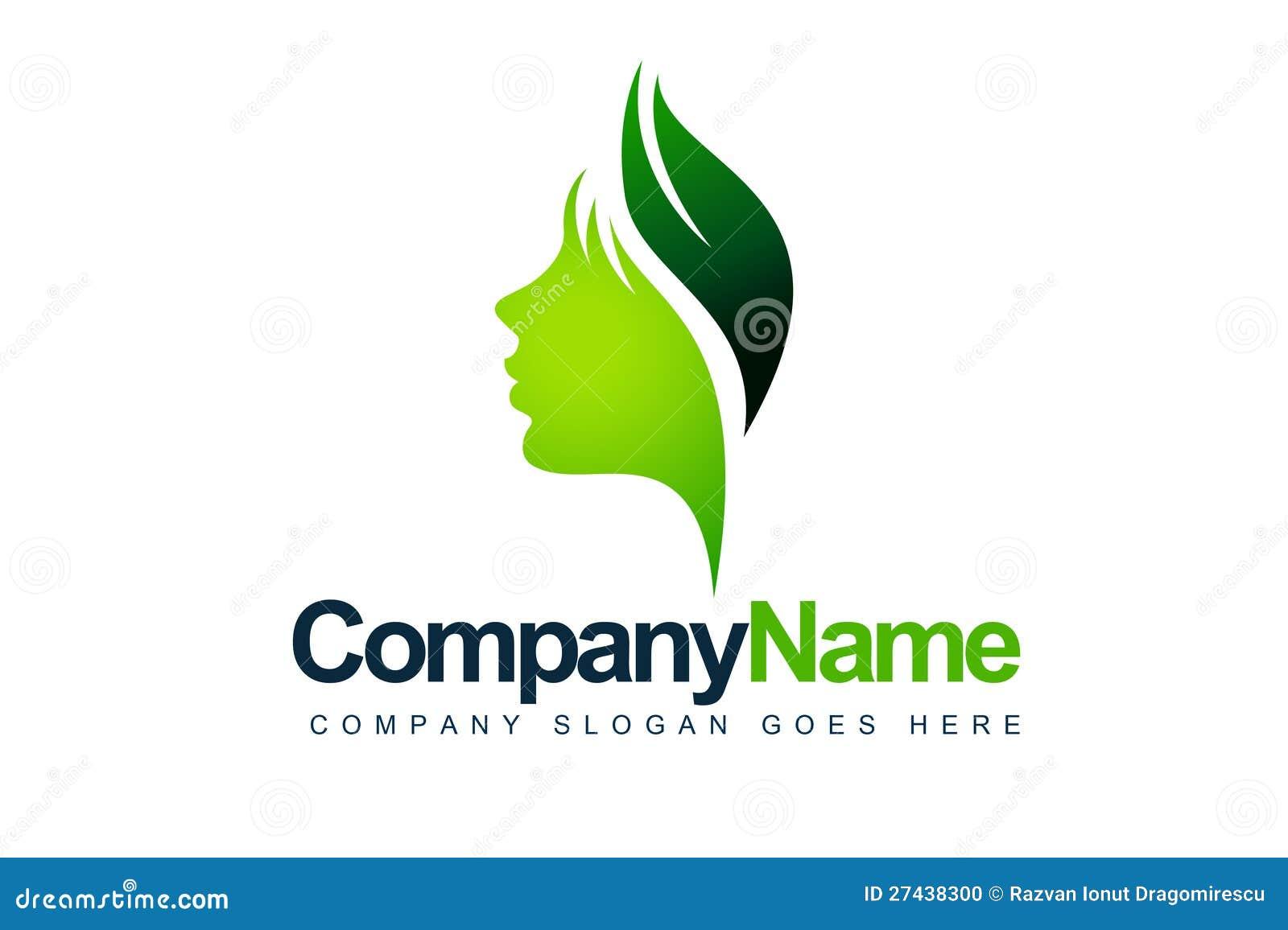 Liść Twarzy Logo