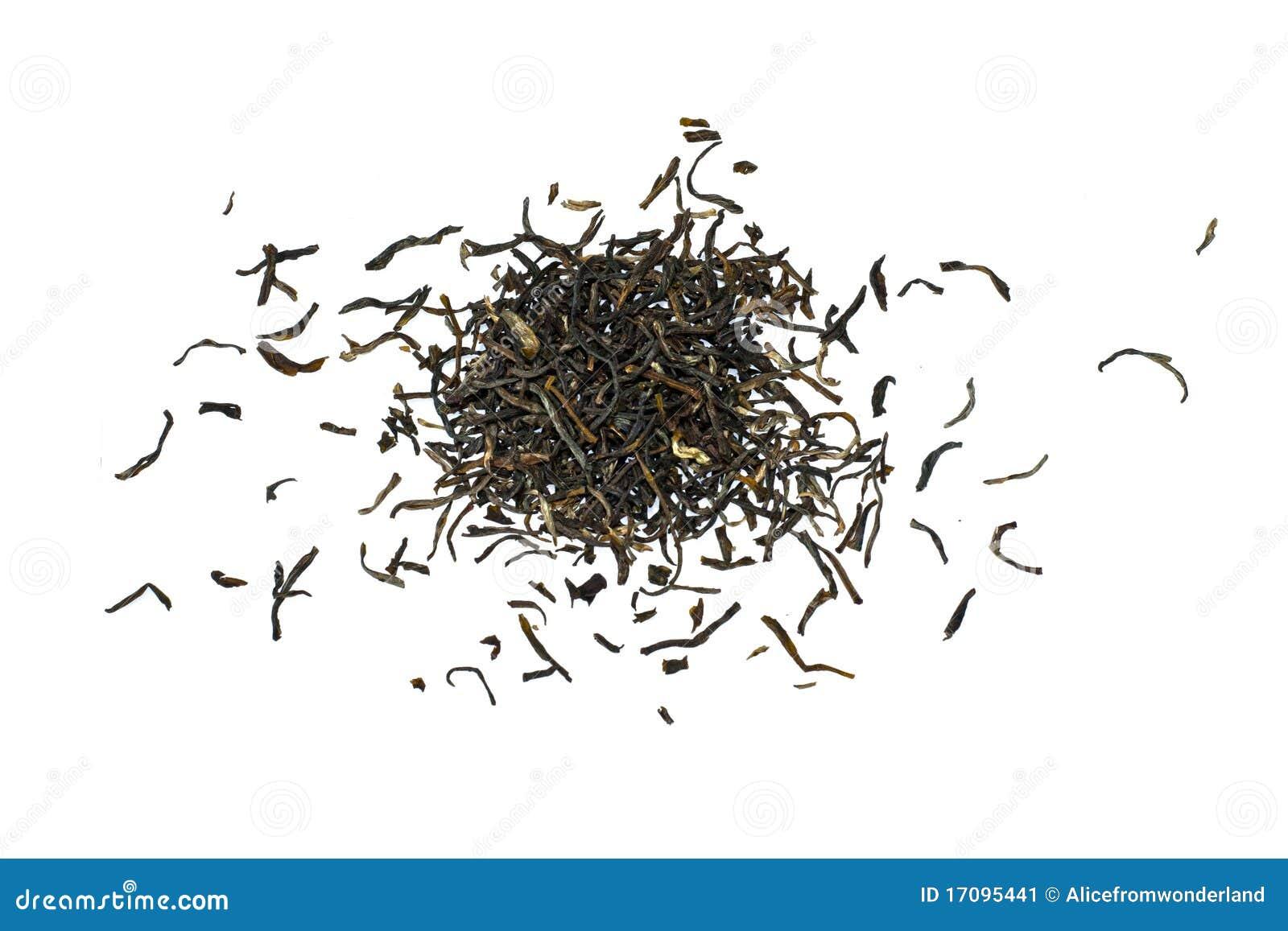 Liść zielona herbata