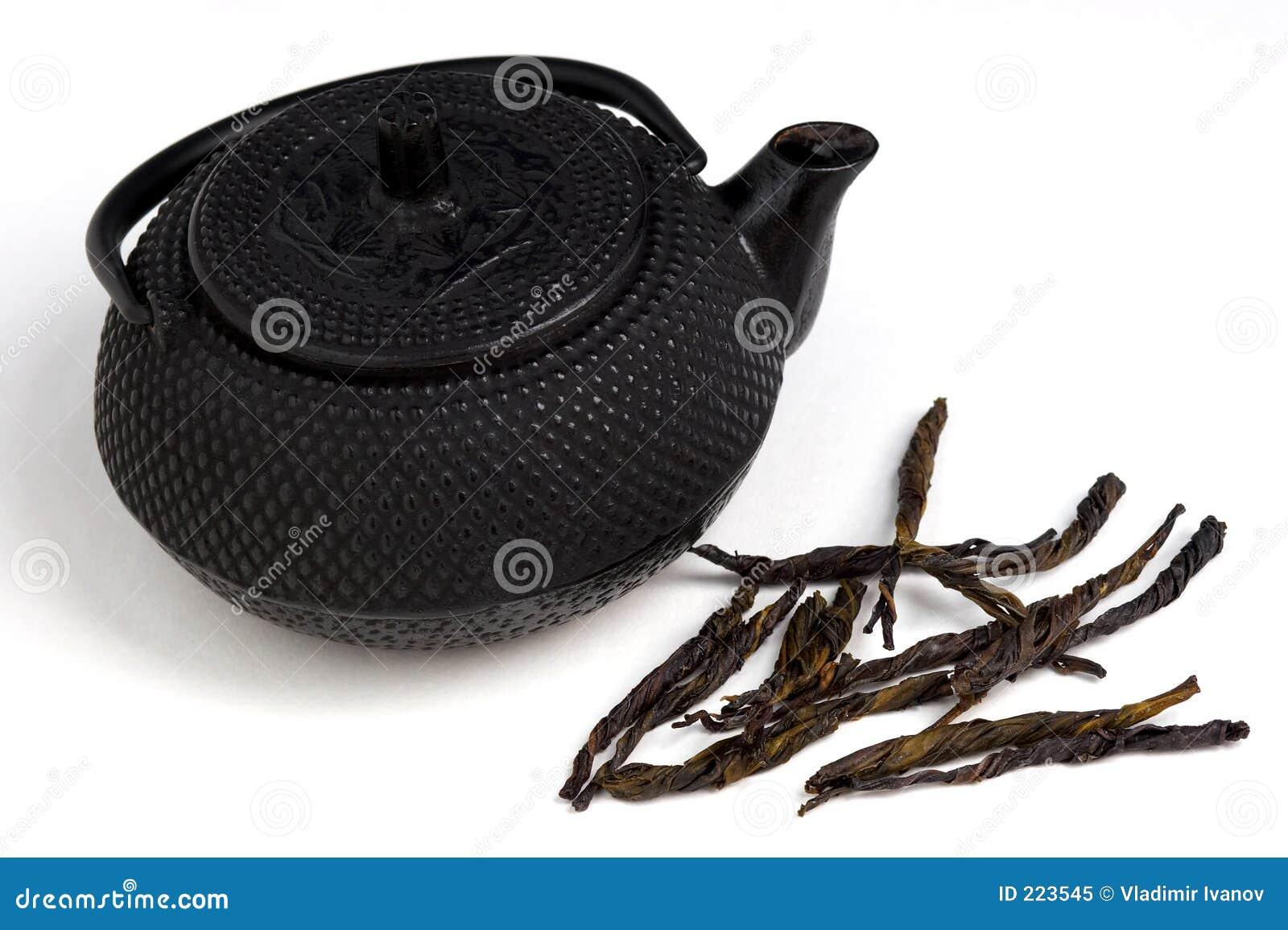 Liści herbaty trawy