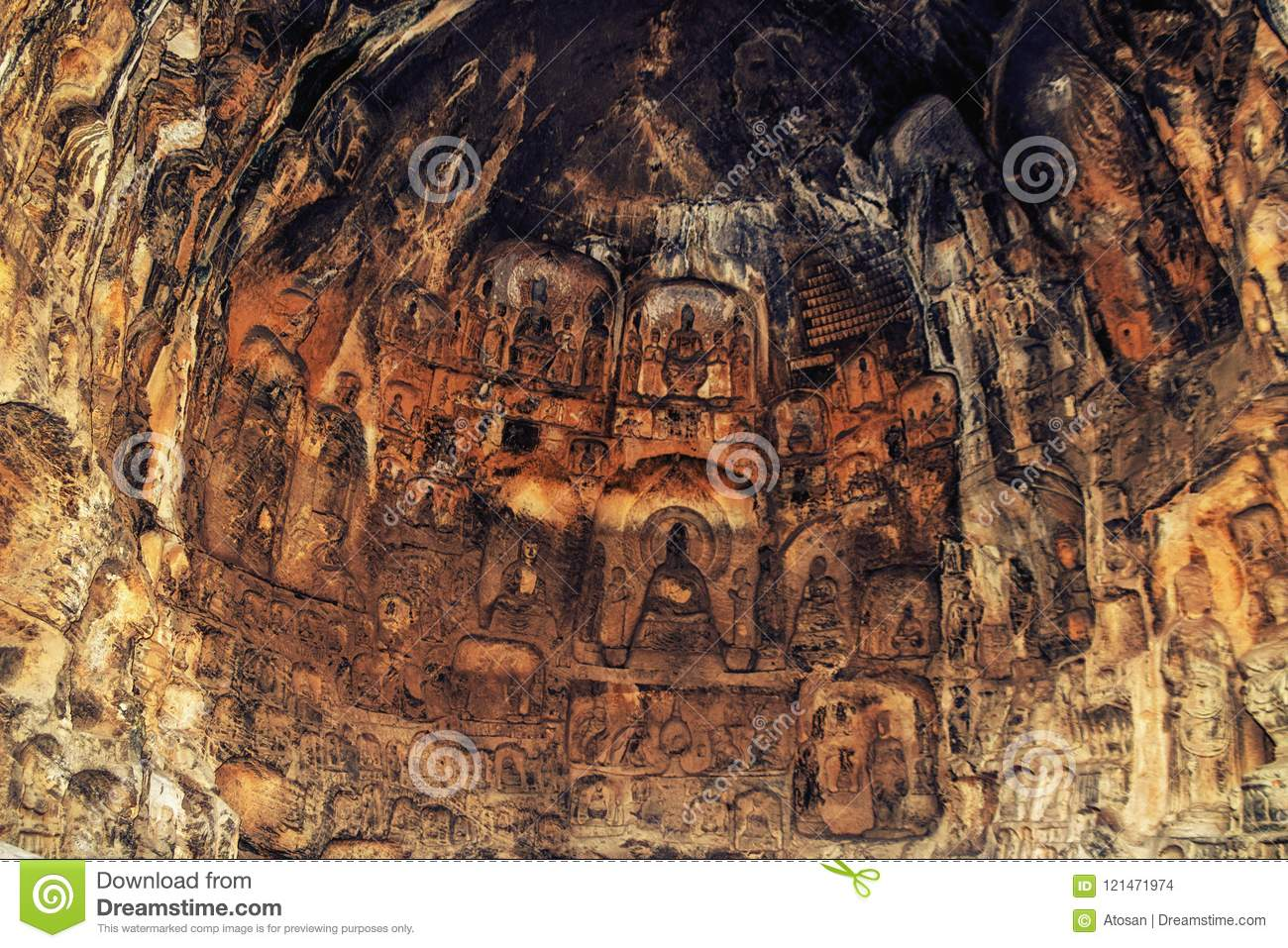 Lianhua lotus flower cave longmen grottoes and caves luoyang lianhua lotus flower cave longmen grottoes and caves luoyang izmirmasajfo
