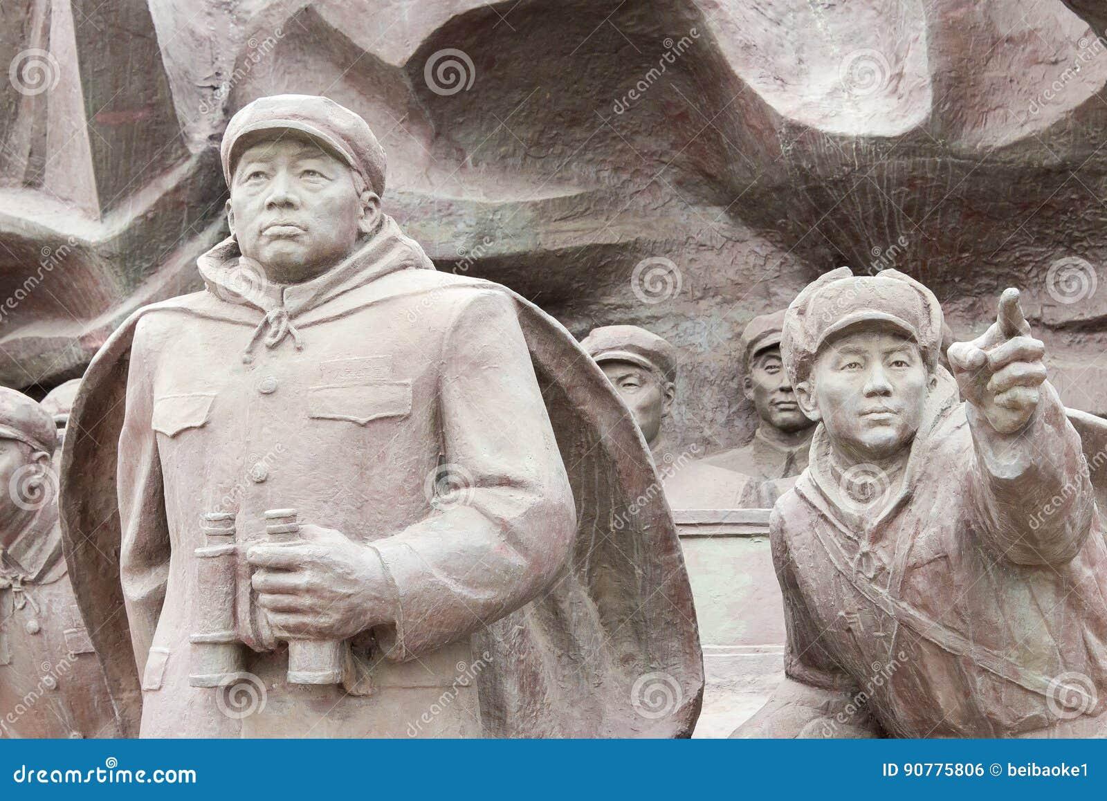 LIAONING, CHINE - 28 juillet 2015 : L armée volontaire S de personnes chinoises