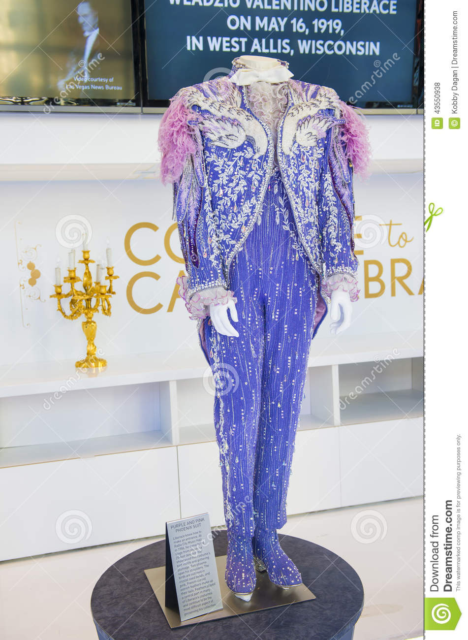 Liberace And The Art Of Costume Editorial Stock Photo