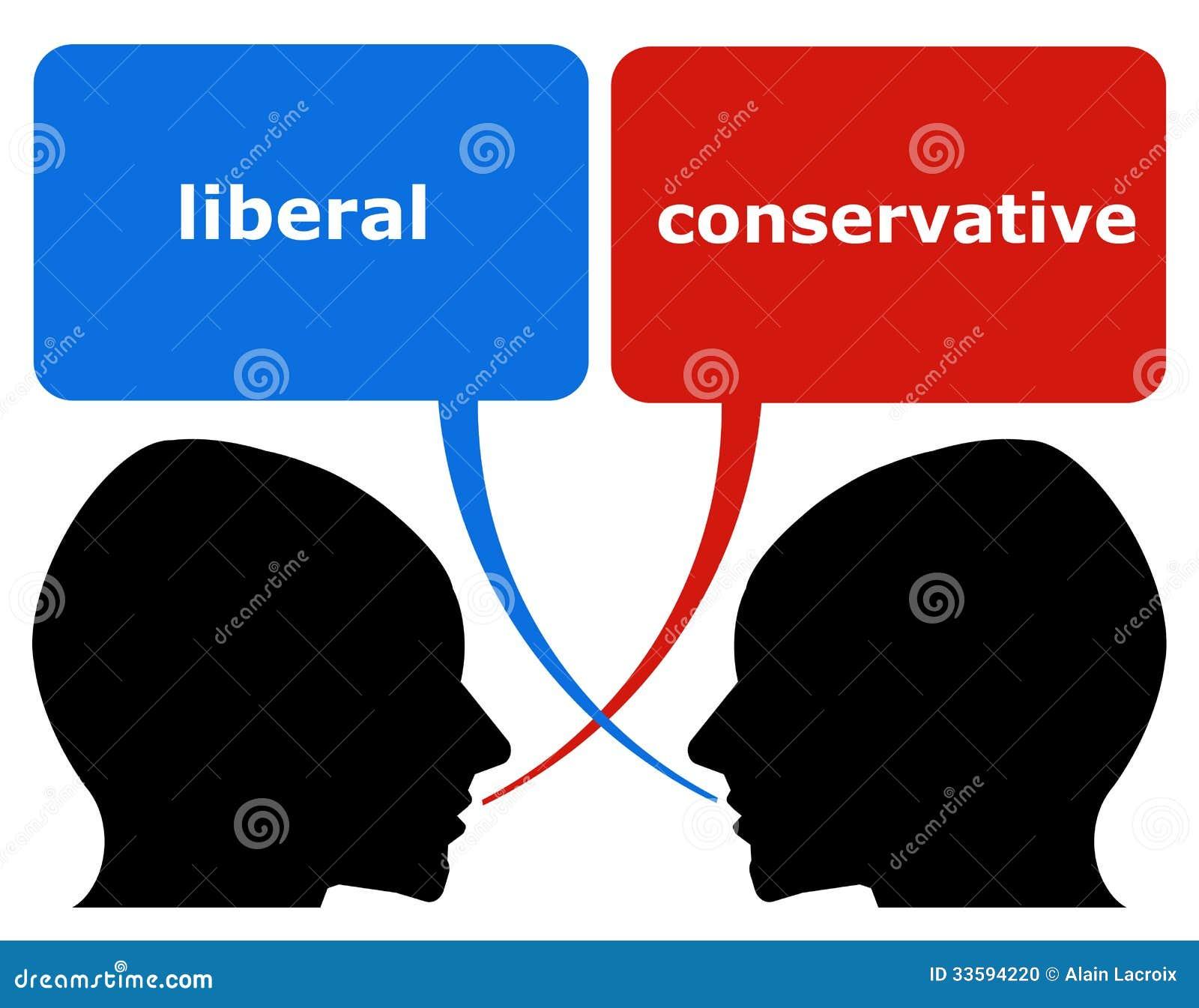 Resultado de imagem para conservador x liberal imagens
