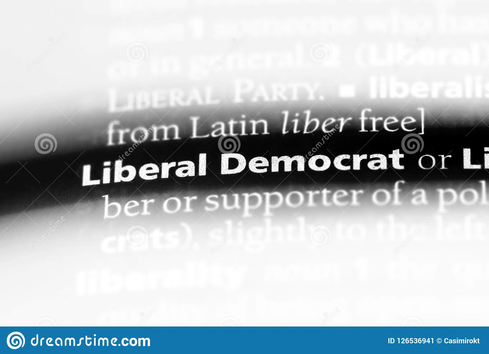 LIBERALE DEMOCRAAT