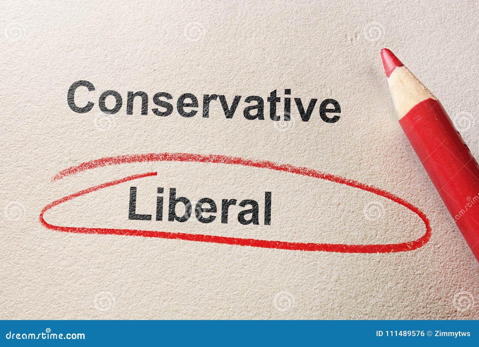 Liberale rode cirkel