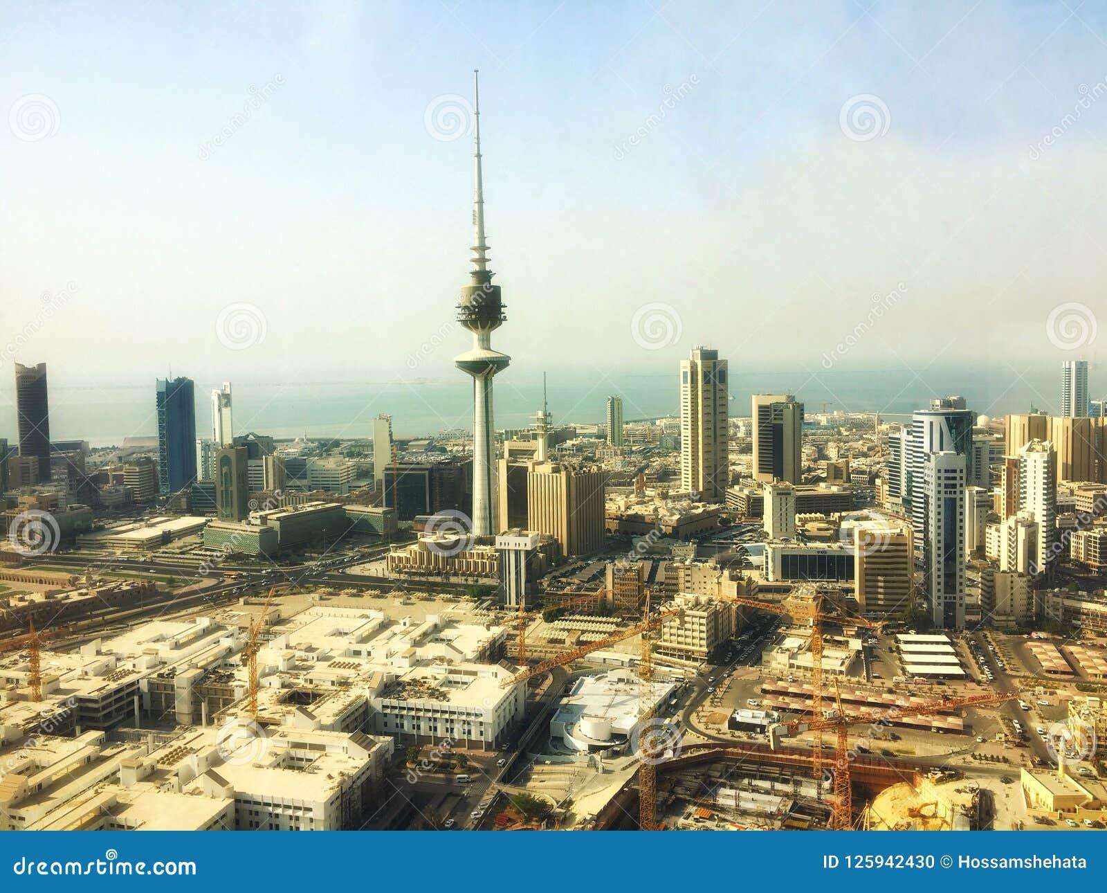 Kuwait City stock photo  Image of city, liberation, hossam