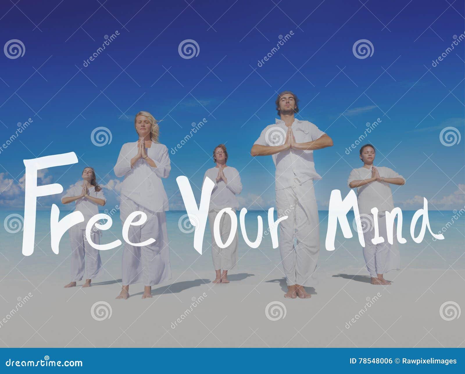 Libere su concepto positivo de la frialdad de la relajación de la mente