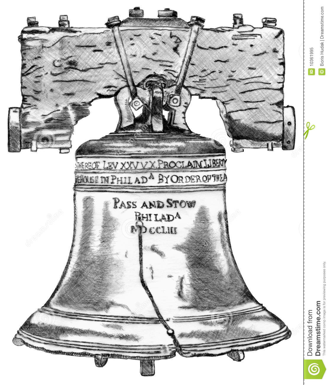 Liberty Bell Royalty Free Stock Photo - Image: 10361995
