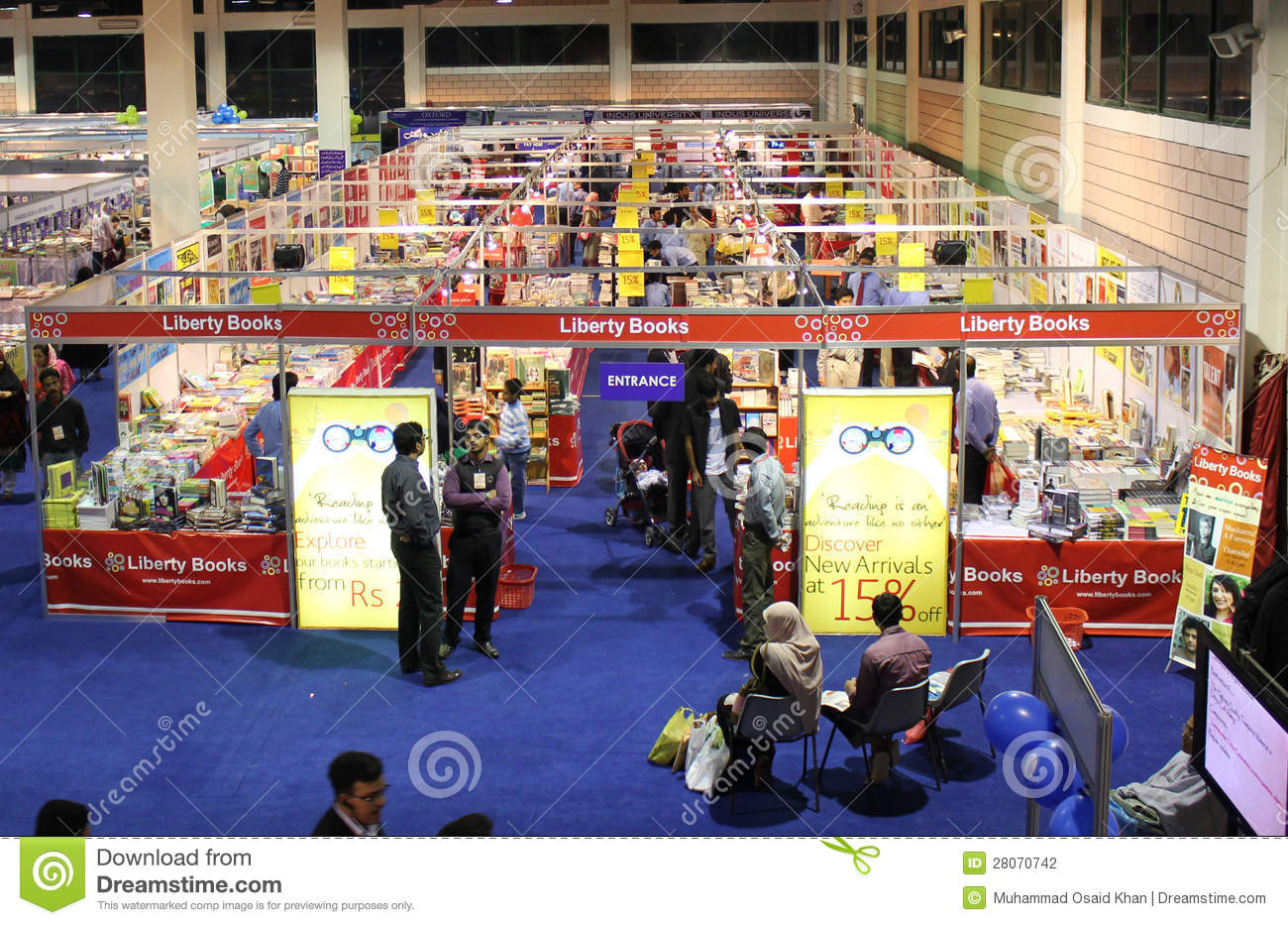 Exhibition Stall Designers In Karachi : Liberty books stall at 8th kibf editorial photography image of