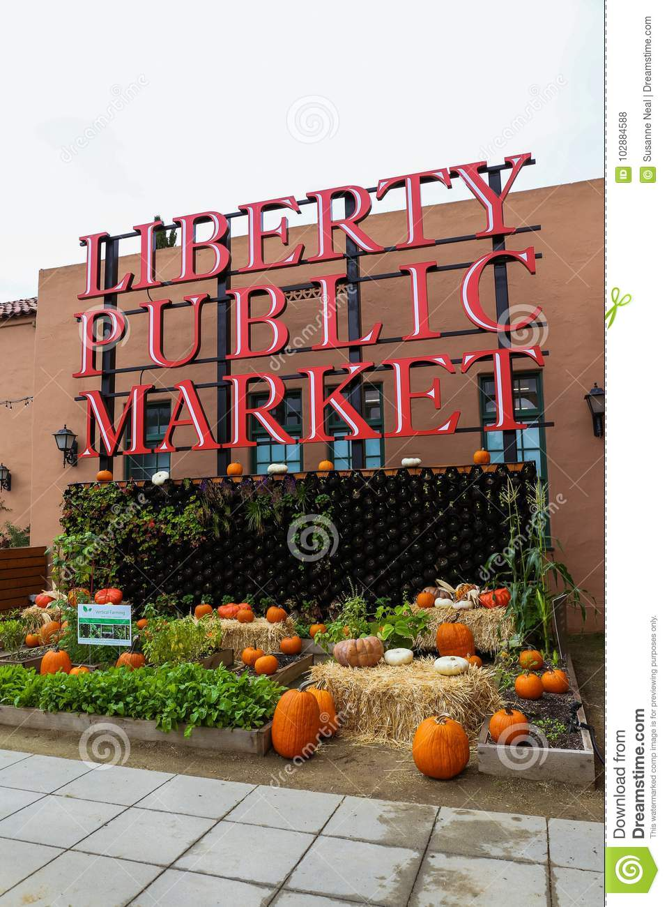 Liberty Public Market, a popular shopping area in Point Loma, California