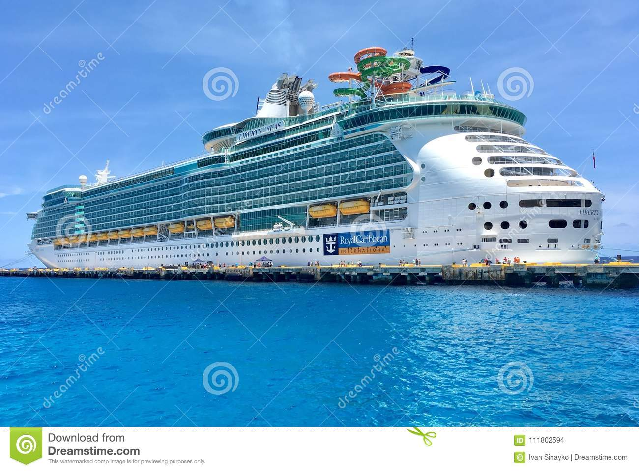 liberty of the seas royal caribbean editorial stock image image