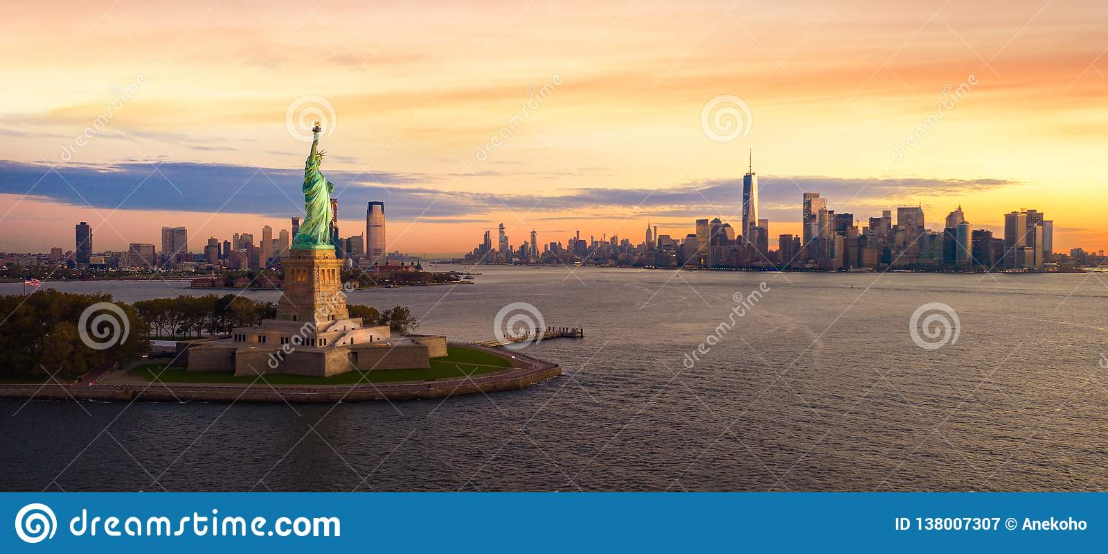 Liberty Statue i New York City