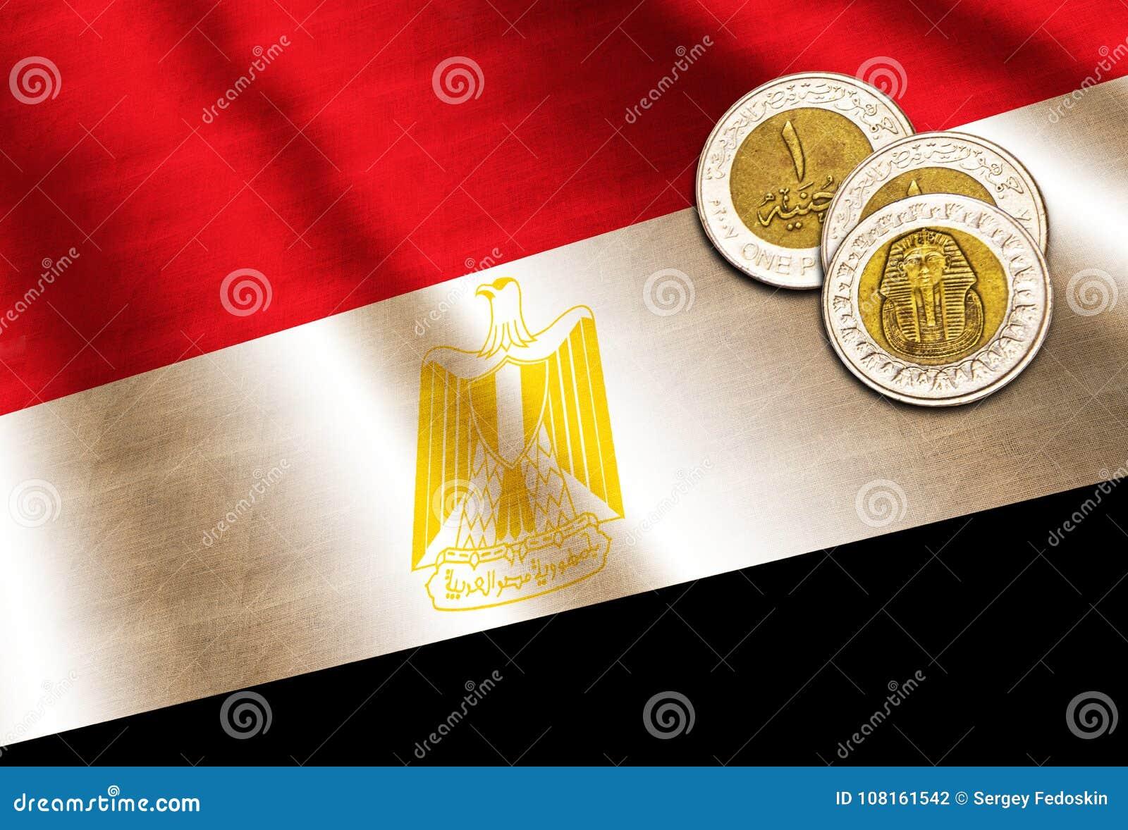 Libra egipcia en la bandera