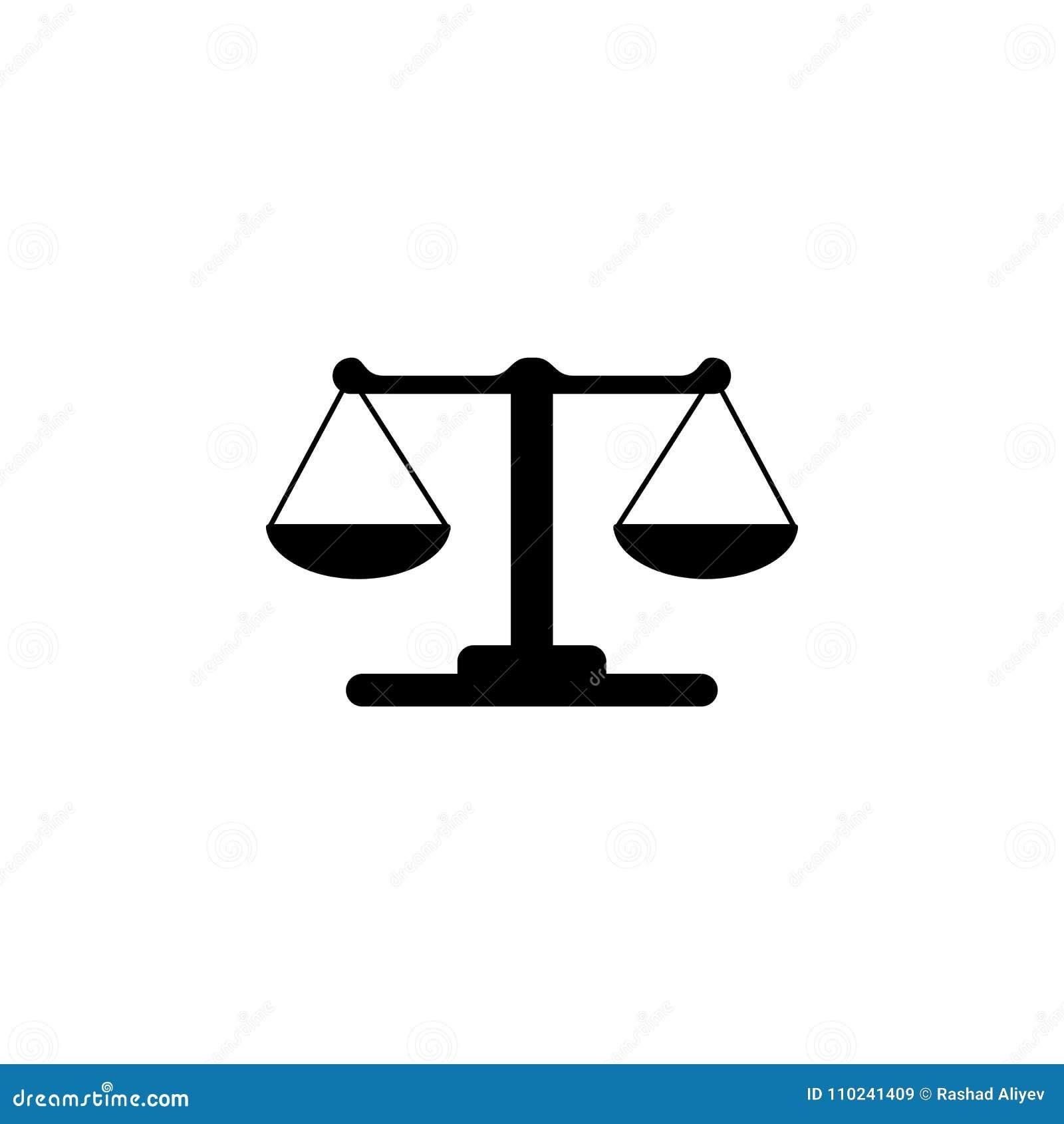 Libra Icon Illustration Of A Criminal Scenes Icon Premium Quality
