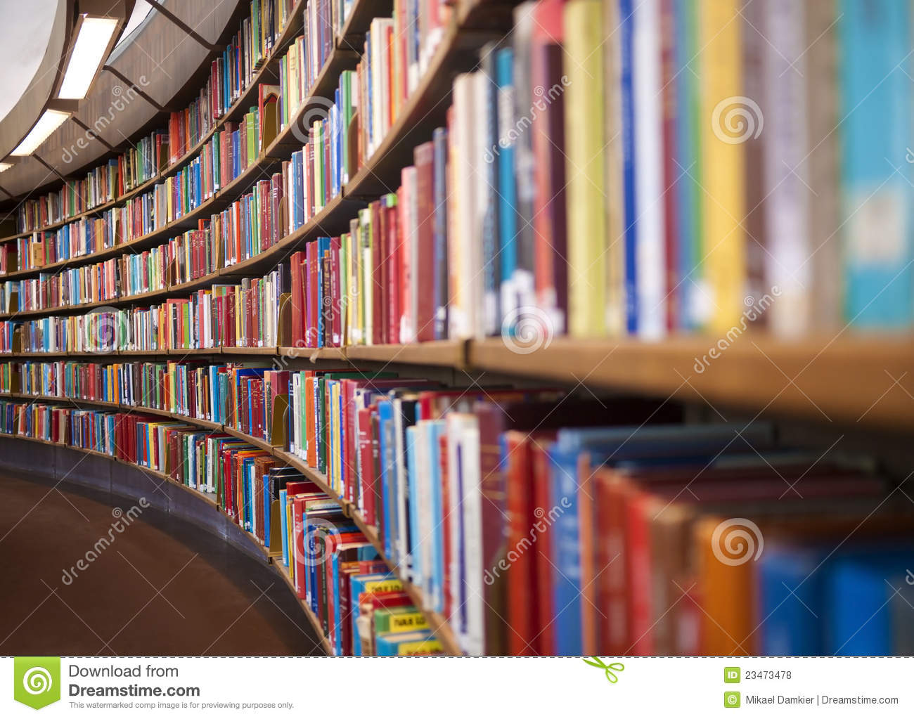 Download Library stock photo. Image of indoors, large, literature - 23473478