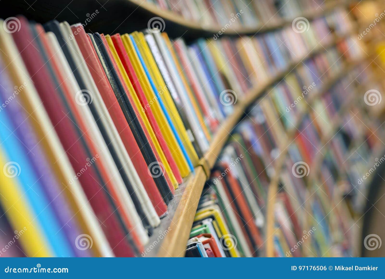 Download Library books stock photo. Image of bookshelf, photo - 97176506