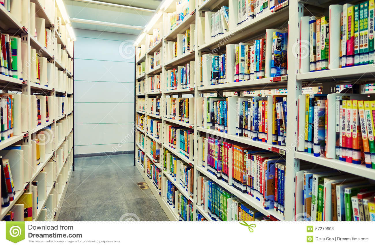 Library Books Bookshelf Download Preview