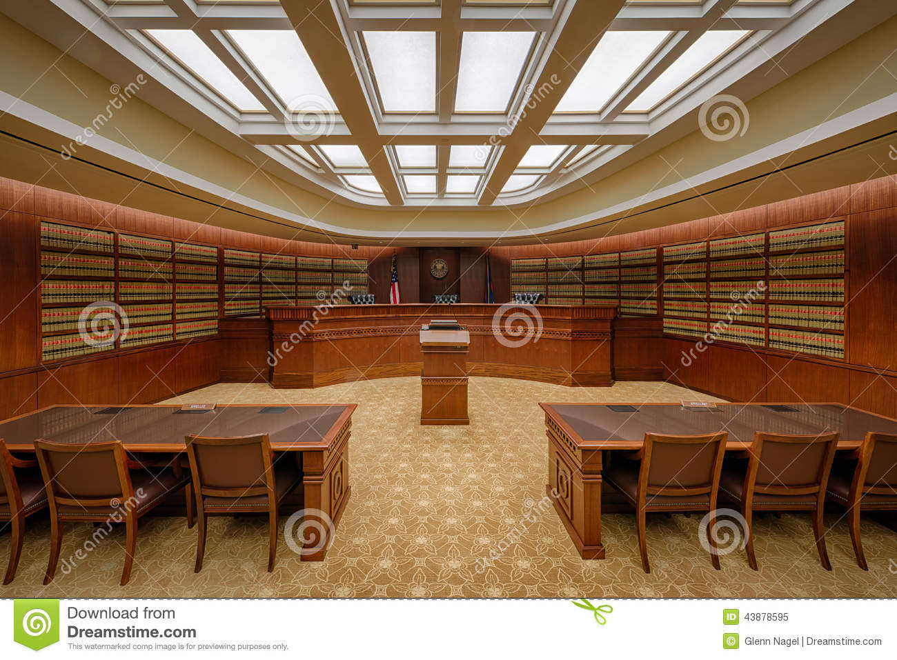 the library court of appeals courtroom in the ralph l carr colorado judicial center at 2 e 14th avenue in denver colorado on july 24 2014