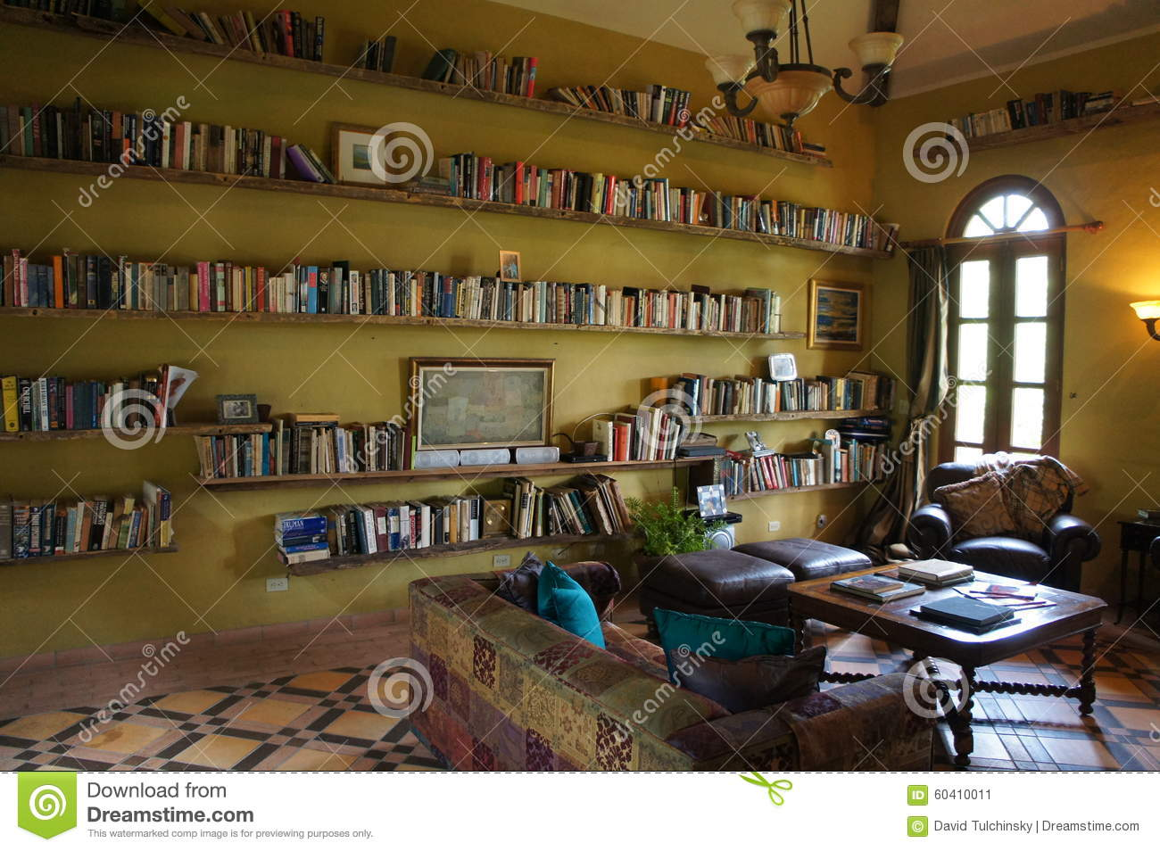 Library at la casa de lourdes stock photo image 60410011 - Casa de lourdes ...