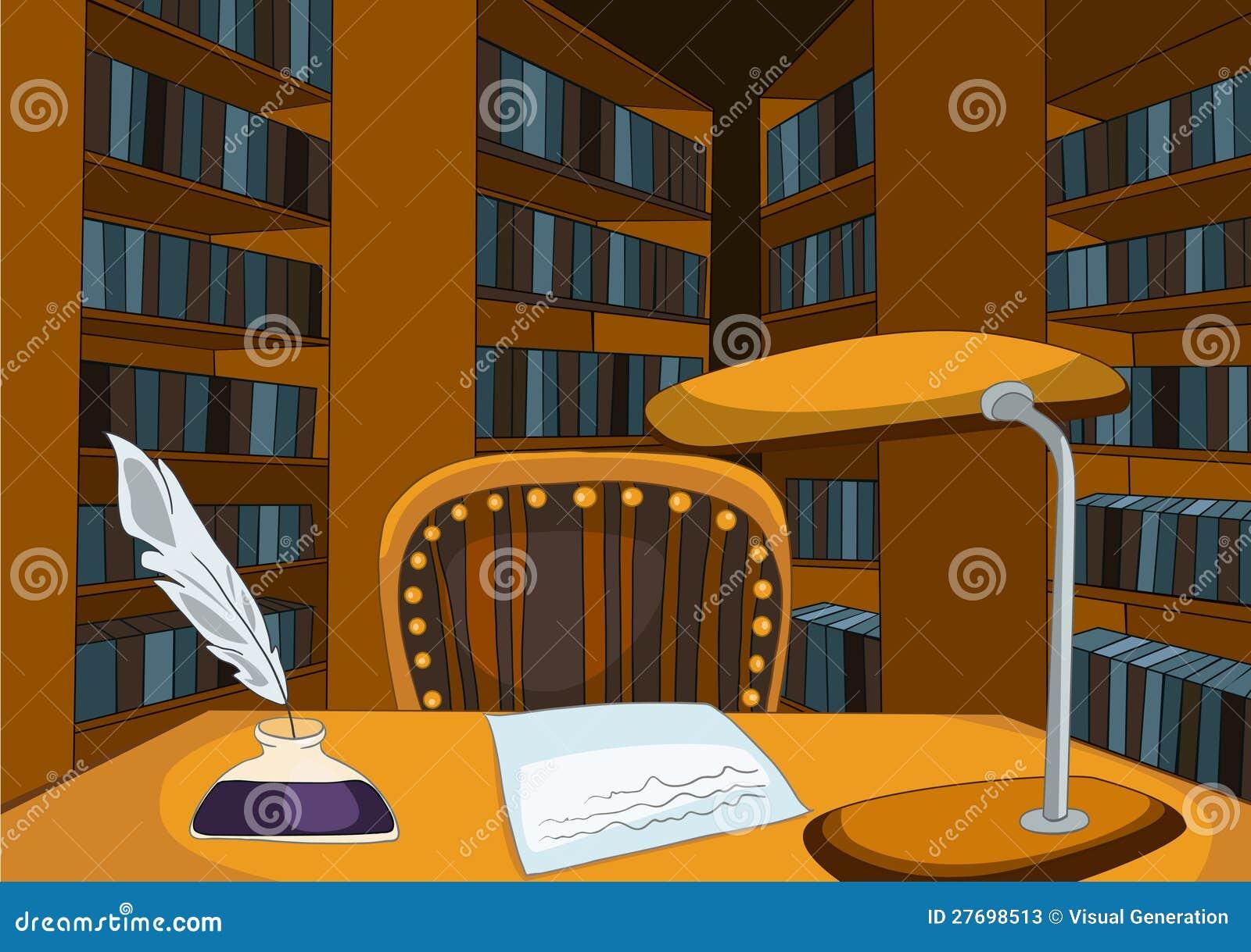 Library Room Cartoon Stock Photos - Image: 27698513