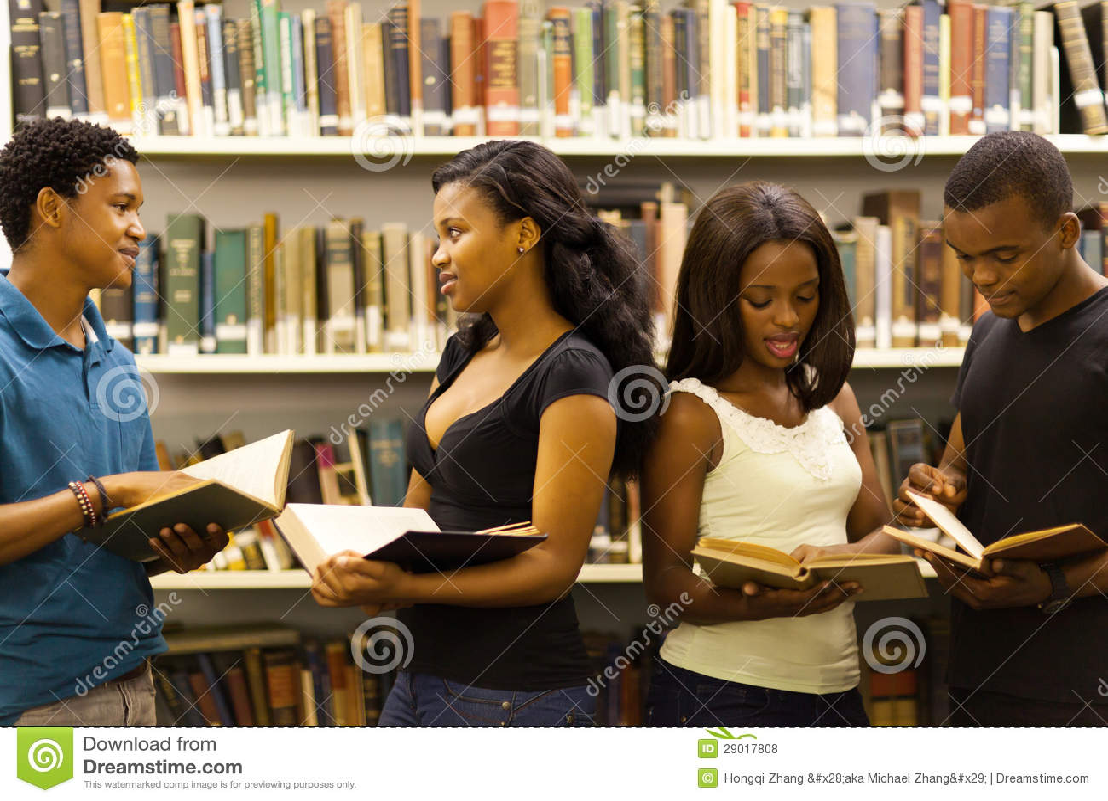 Libreria africana degli studenti