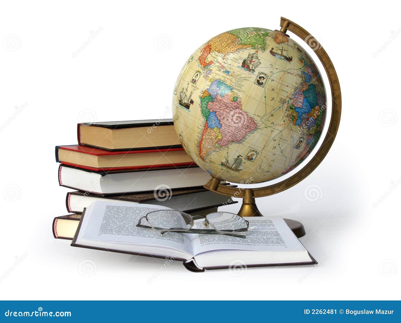 Libri globo e vetri