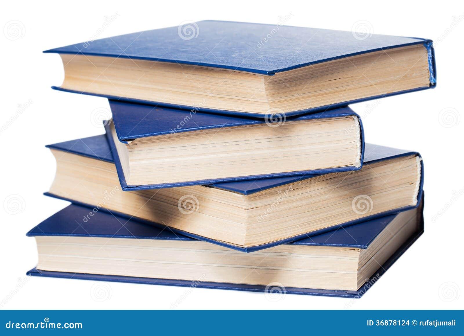 Download Libri. Pila Di Vecchi Libri Su Fondo Bianco Fotografia Stock - Immagine di imparare, bibbia: 36878124
