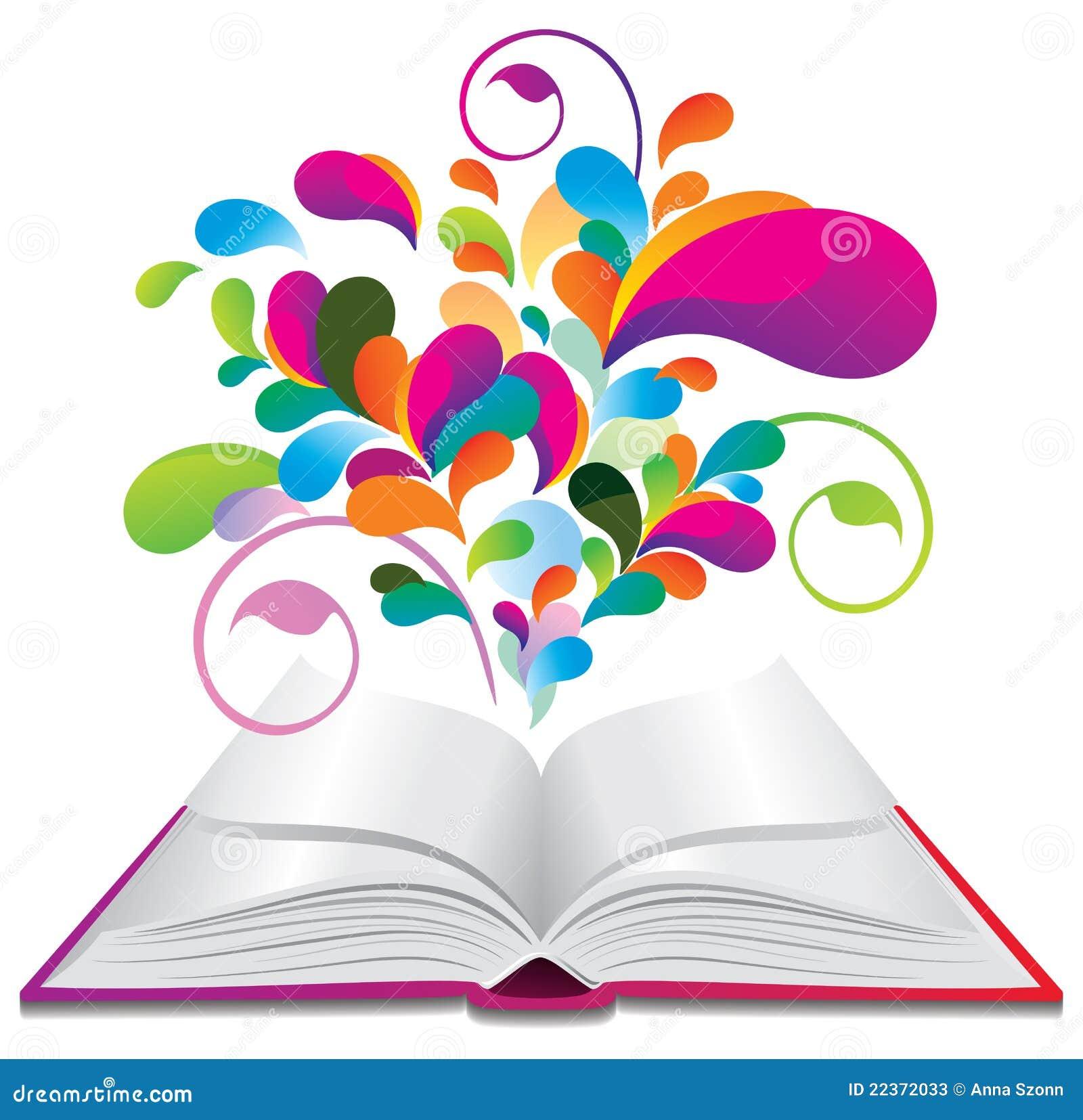 Libro abierto animado the image kid has it - Imagenes de librerias ...