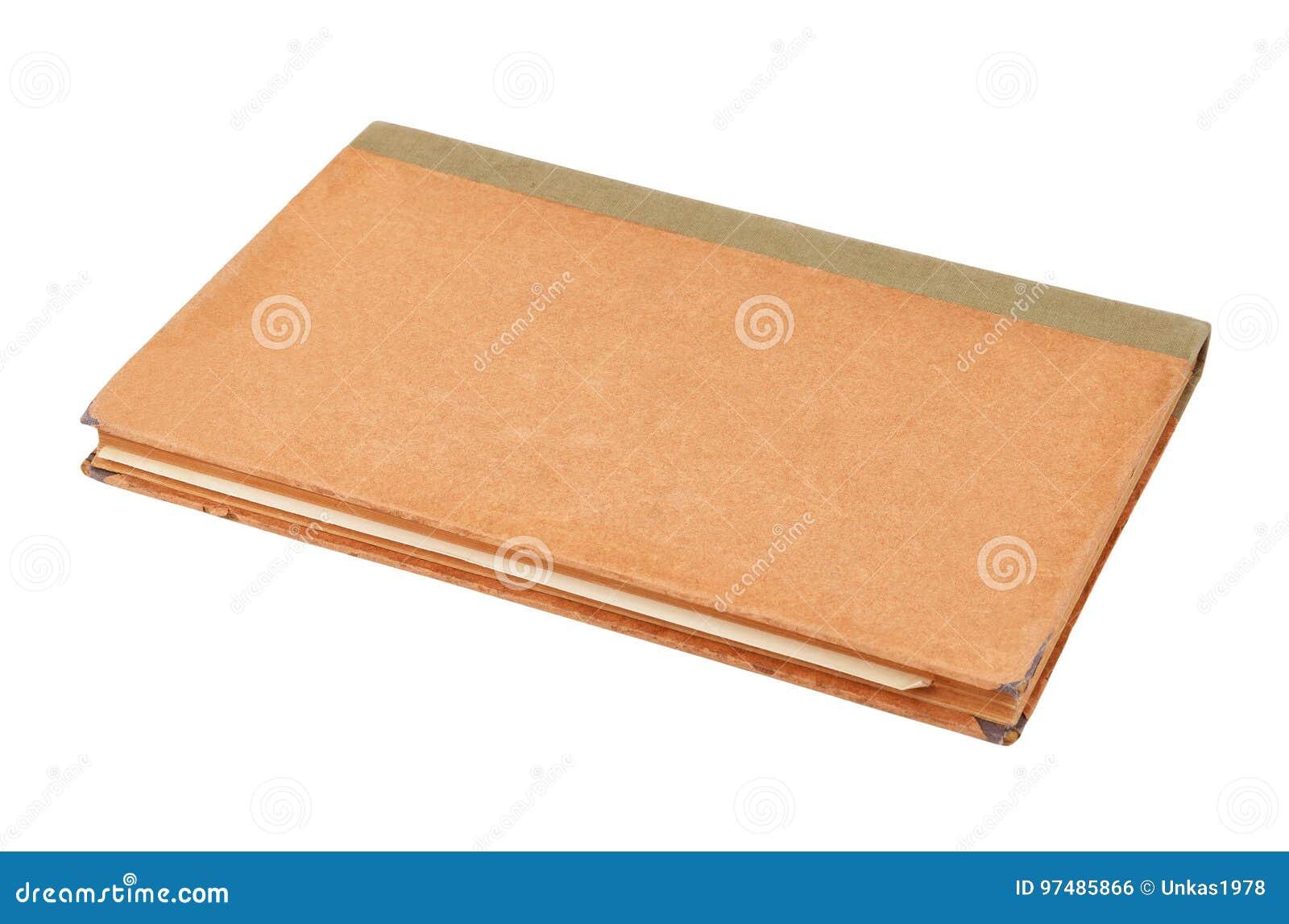 Libro antico su bianco