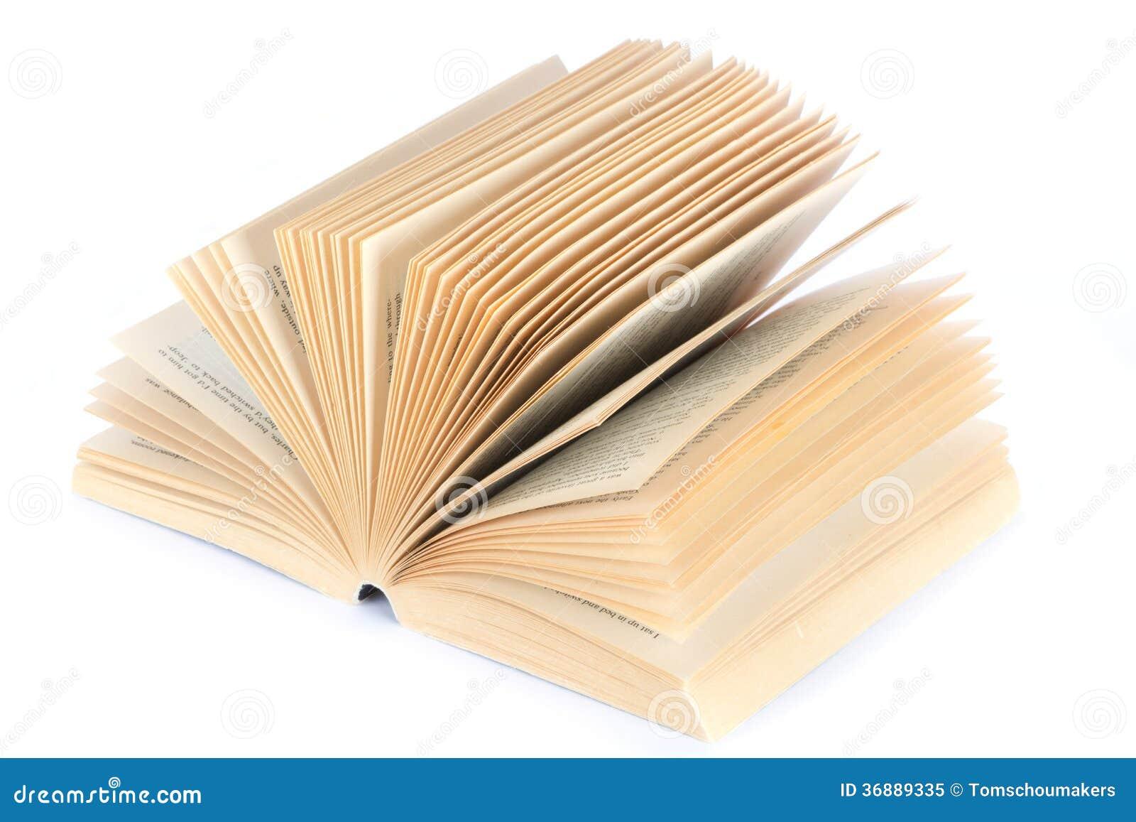 Download Libro aperto immagine stock. Immagine di orizzontale - 36889335