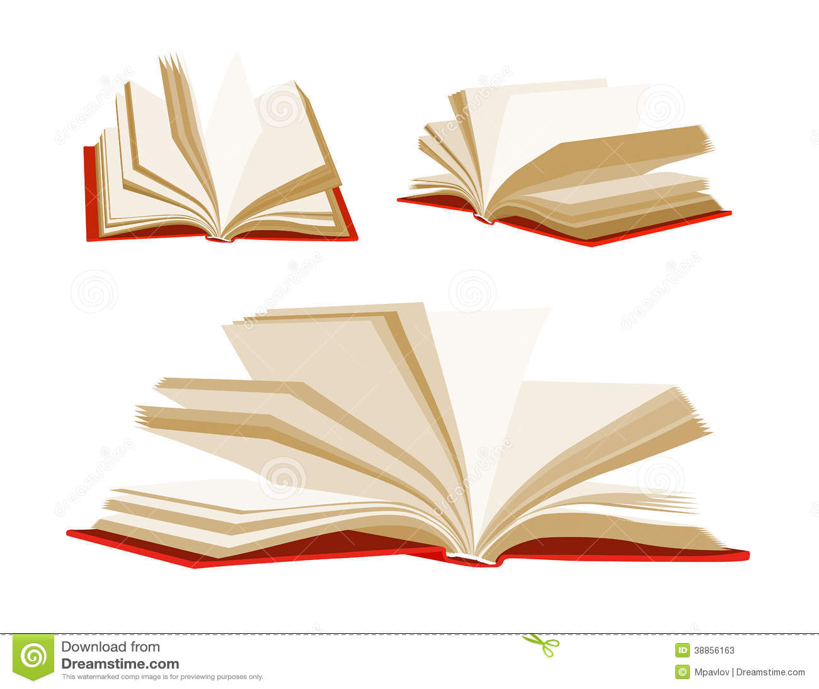 libro aperto illustrazione vettoriale illustrazione di