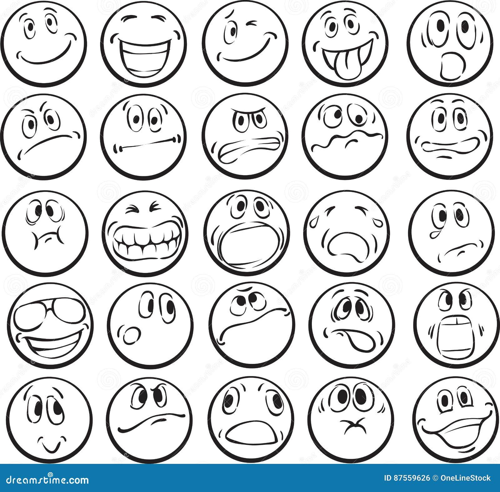 Disegni Da Colorare Delle Emoji Coloratutto Website