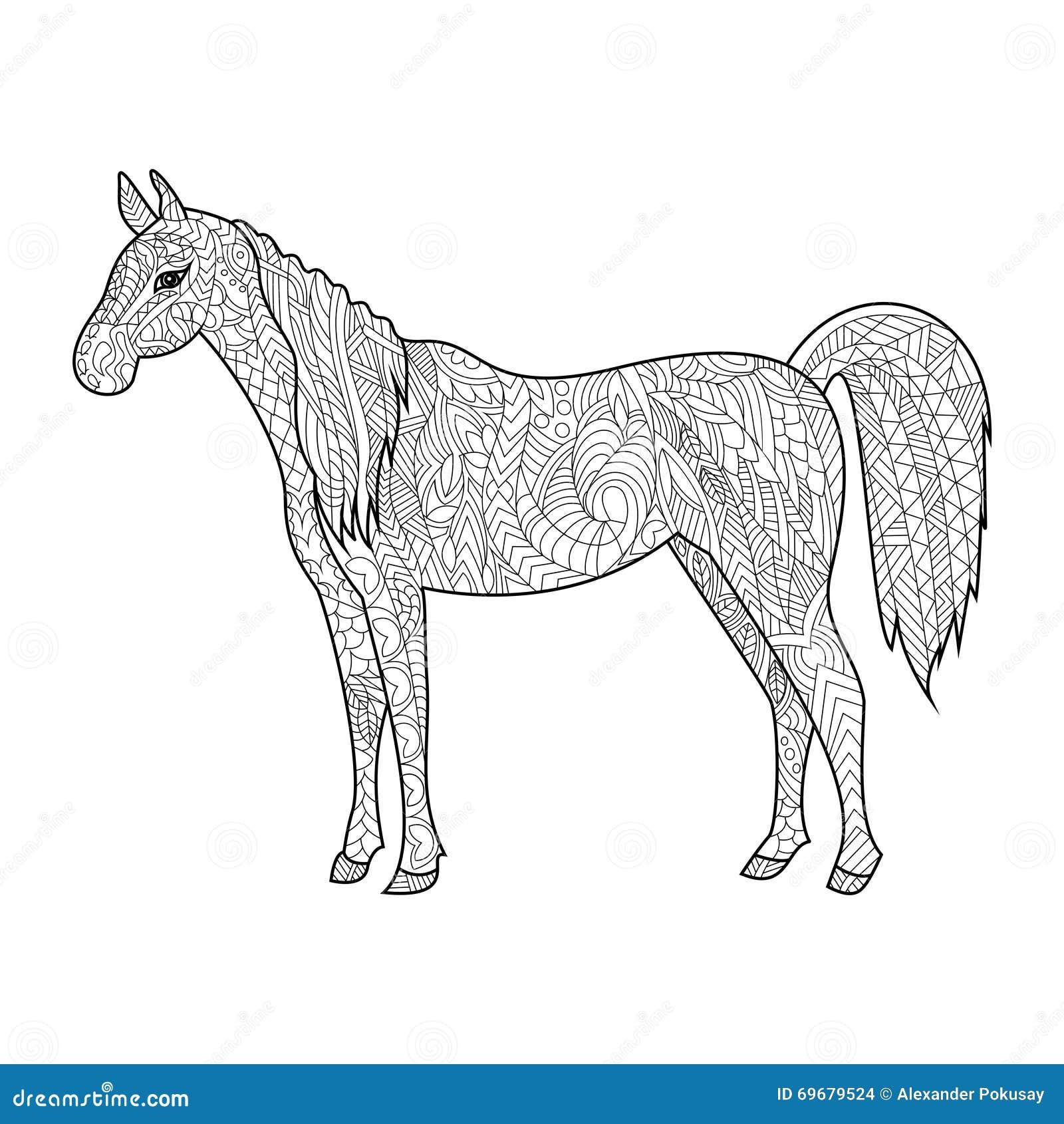 Disegni Da Colorare Di Cavalli Selvaggi.Disegni Da Colorare Dei Cavalli Stampae Colorare