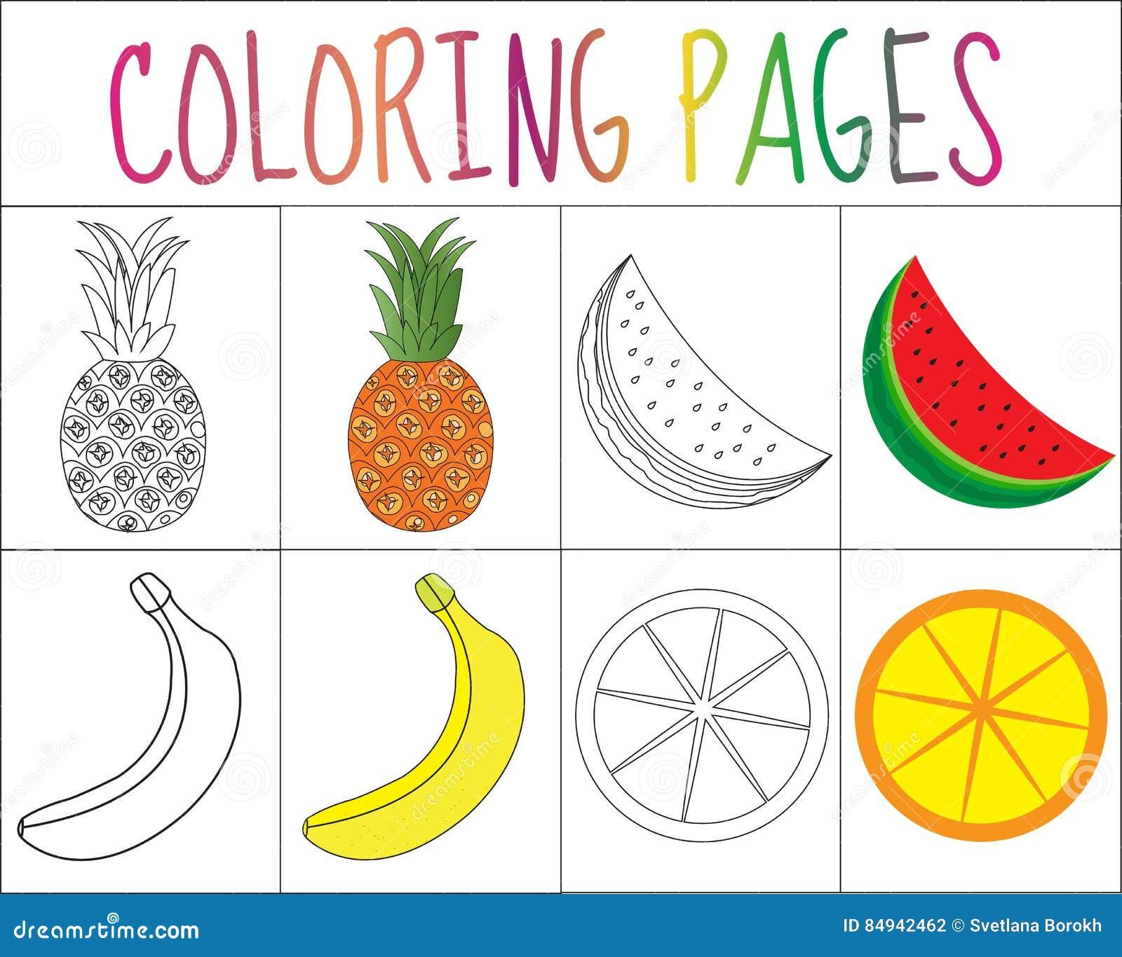Libro da colorare insieme della pagina fruttifica l - Bambino samuel pagina da colorare ...