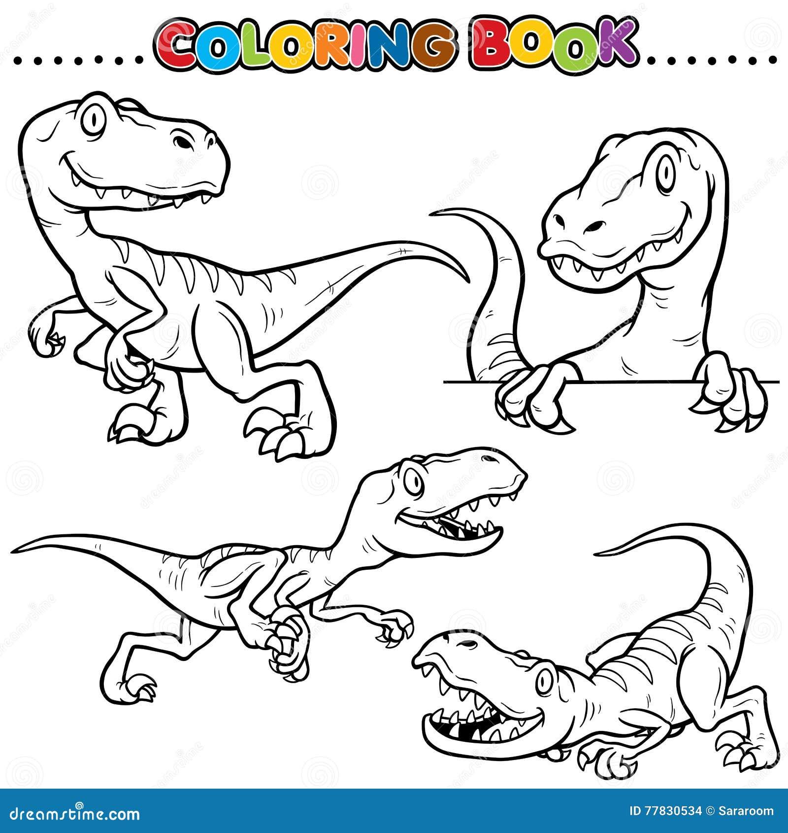 Libro De Colorante Ilustración Del Vector Ilustración De